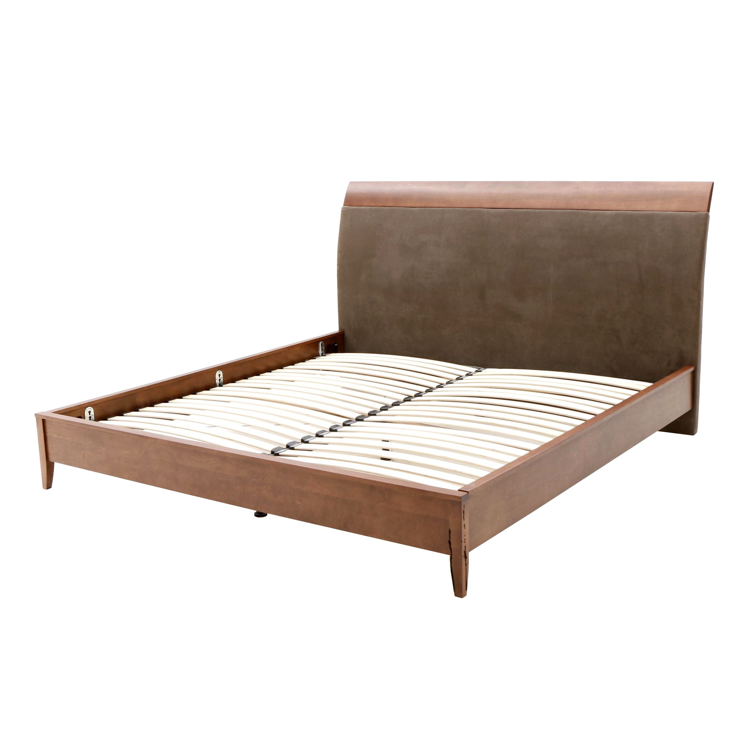 Contemporary King Bed Frame by Dinec