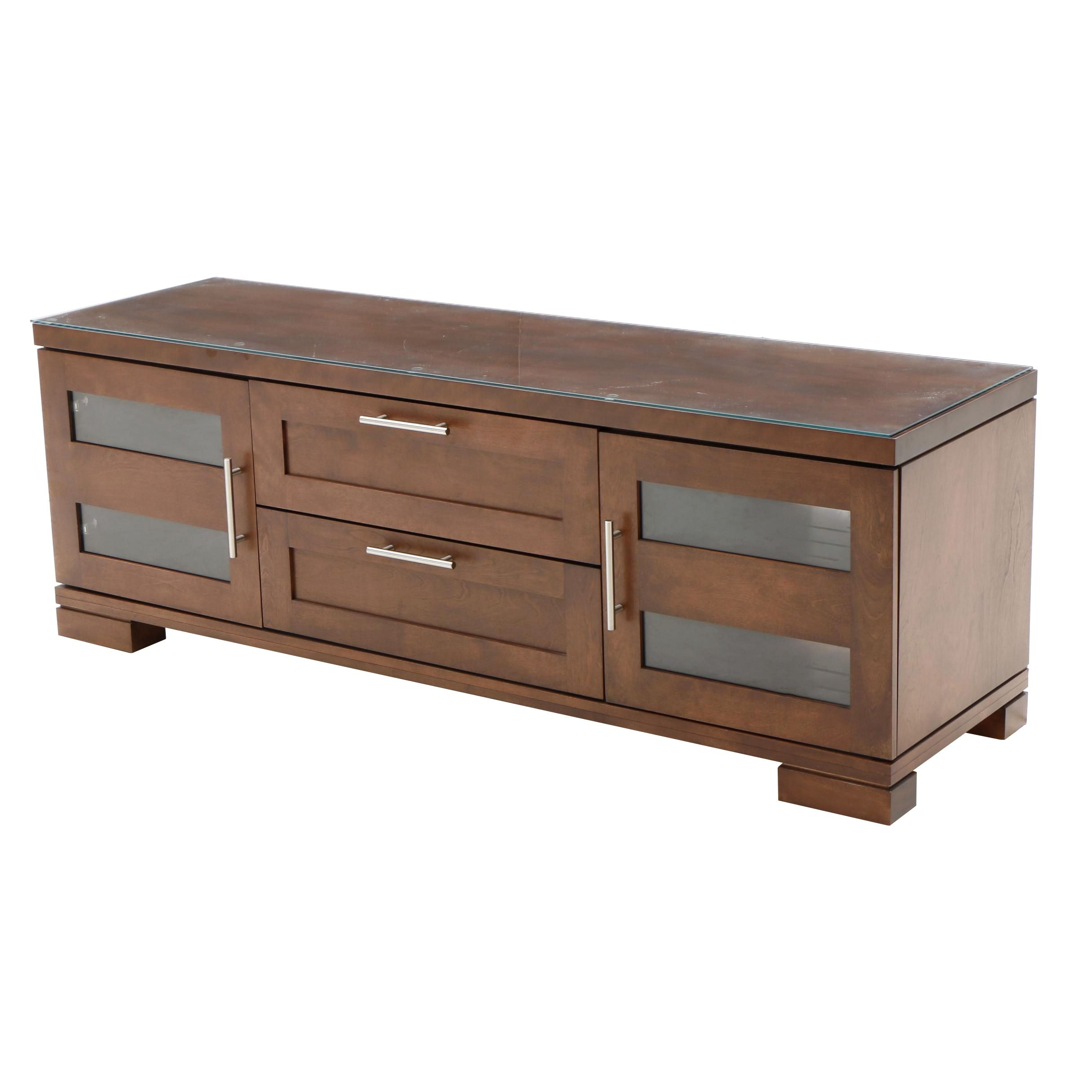 Contemporary Walnut Sideboard by Dinec