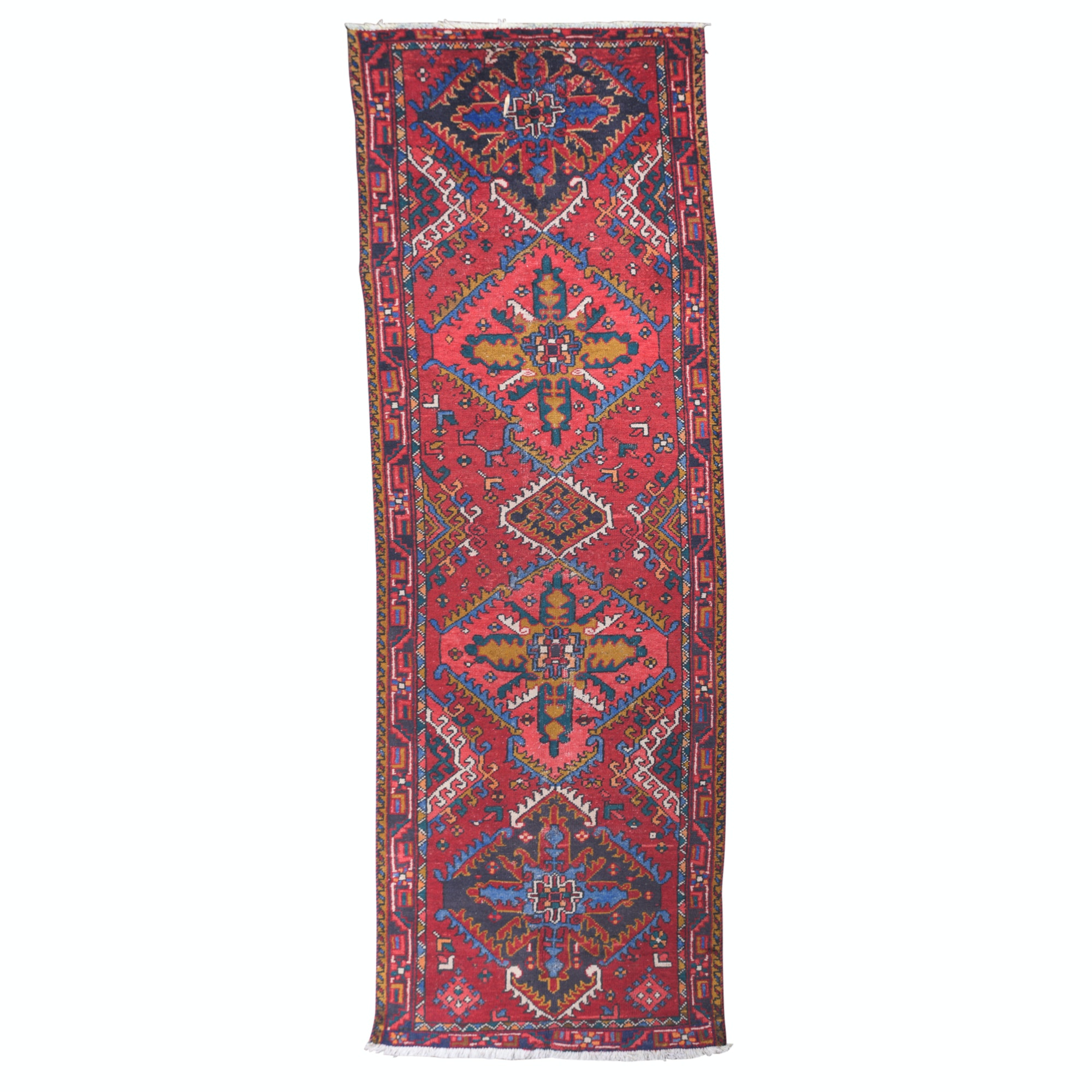 Hand-Knotted Northwest Persian Wool Runner