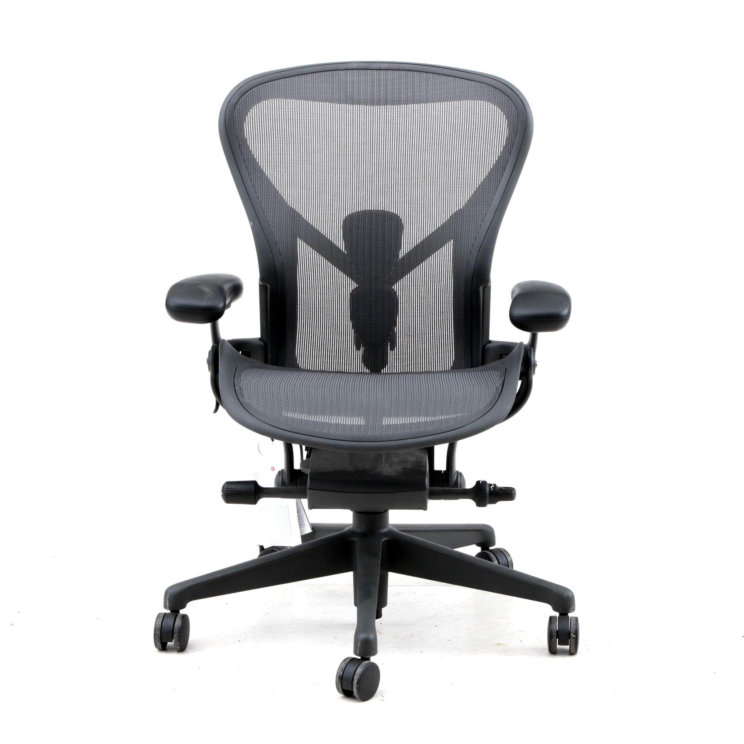 """Contemporary Herman Miller """"Aeron"""" Desk Chair"""