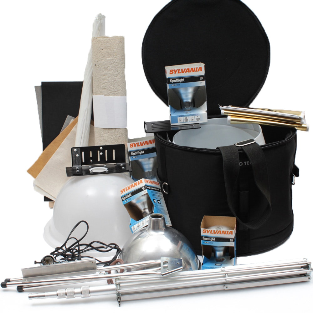 Professional Photography Lighting and Equipment