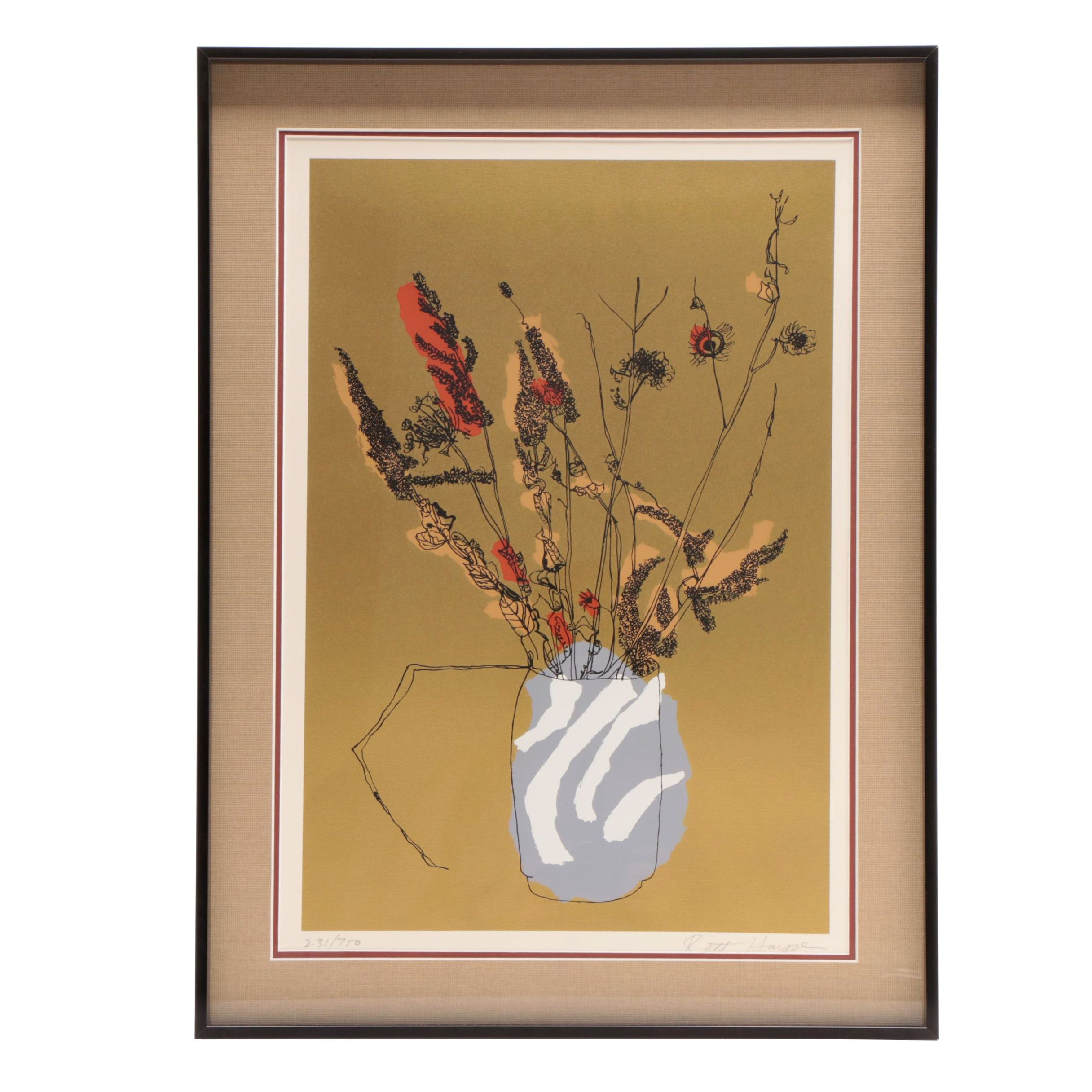 """Brett Harper Limited Edition Serigraph Print """"Findings from the Field"""""""