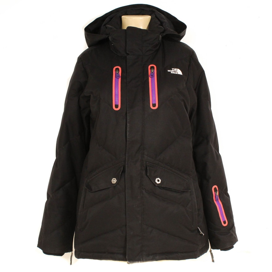 a72121254 The North Face Cryptic Artic Parka 600 Down-Filled Black Puffer Coat