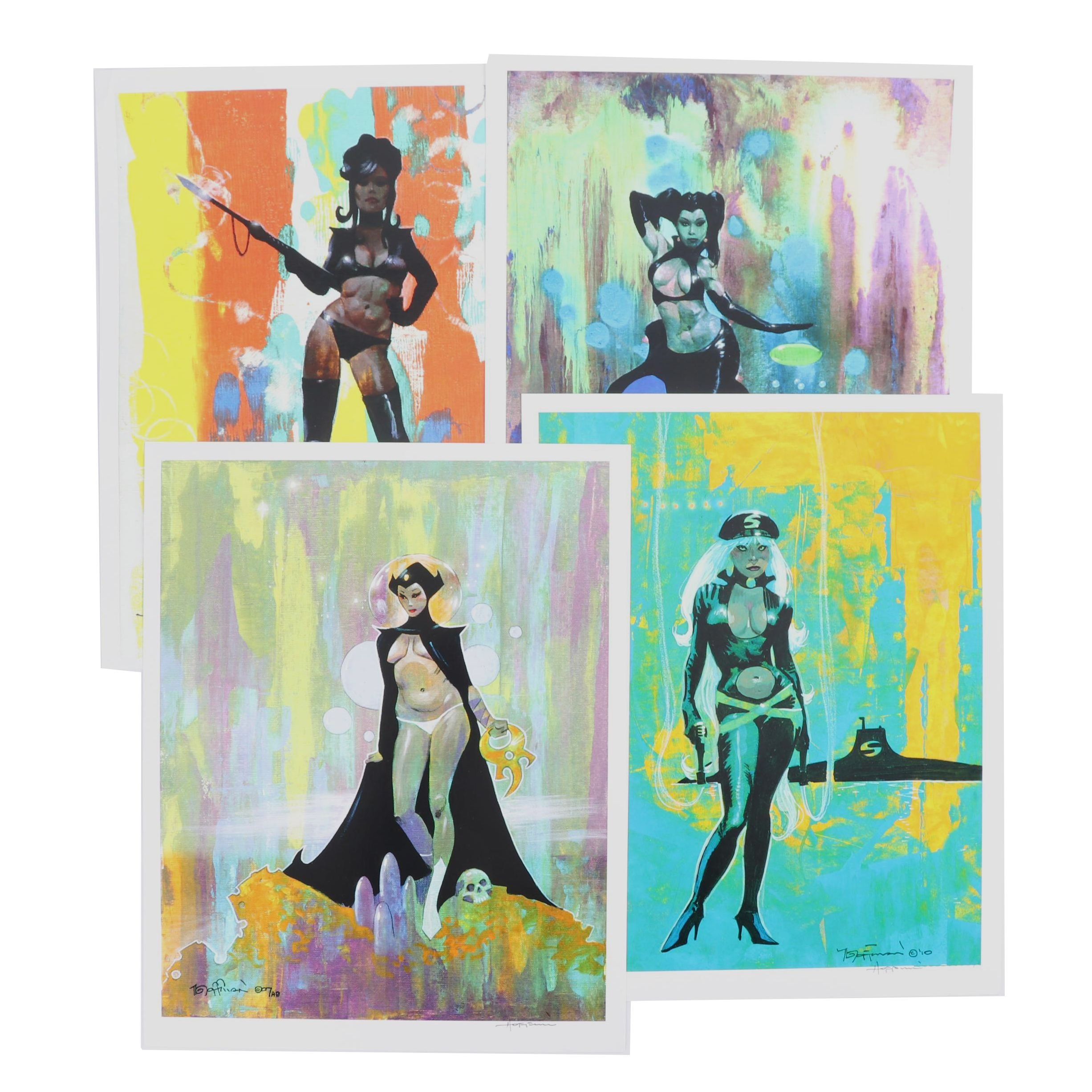 Fantasy Art Offset Lithographs after Mike Hoffman