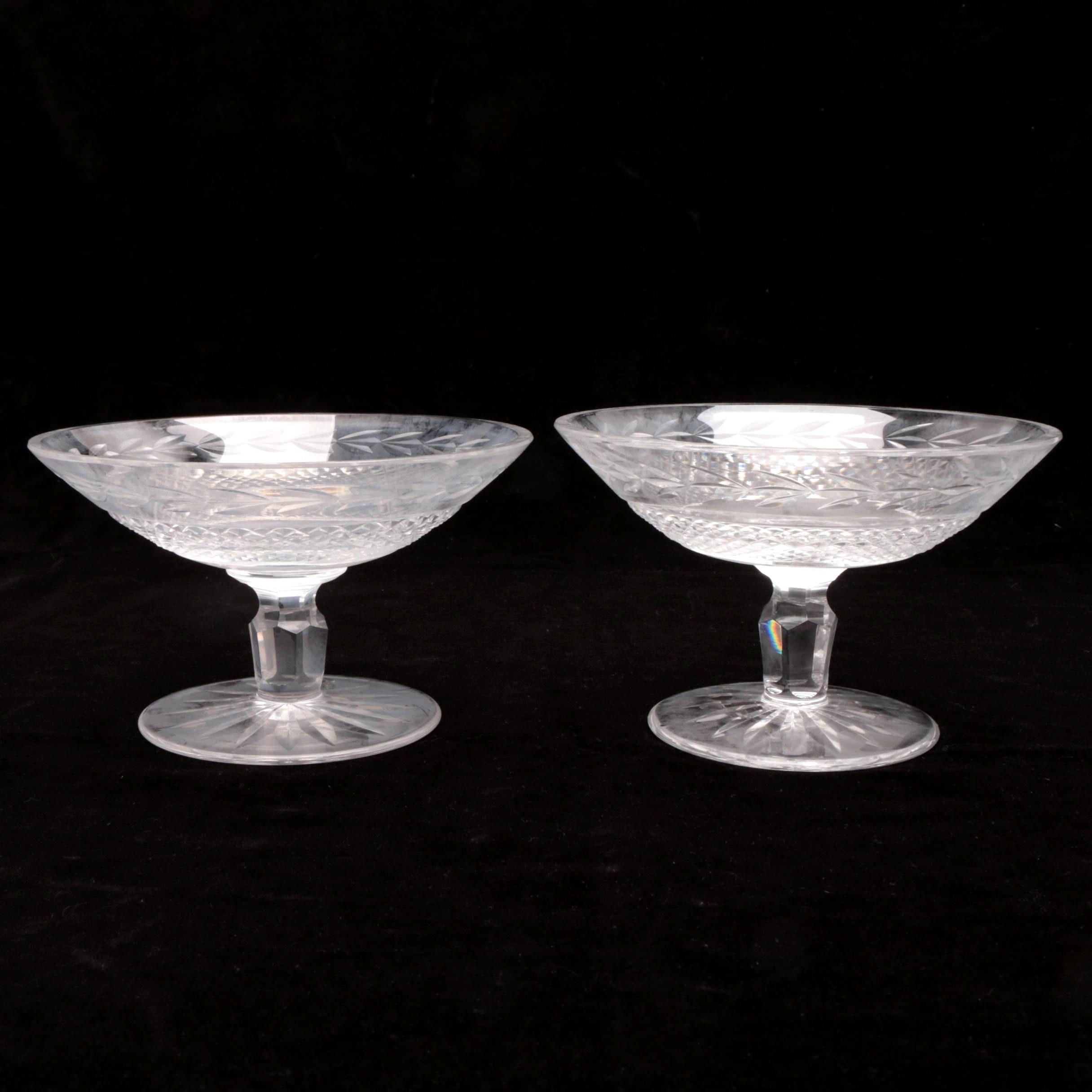 Waterford Crystal Compotes