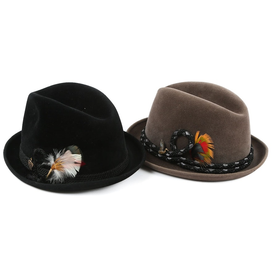 3c4047c1fe1 Men s Champ Felted Trilby Hats   EBTH