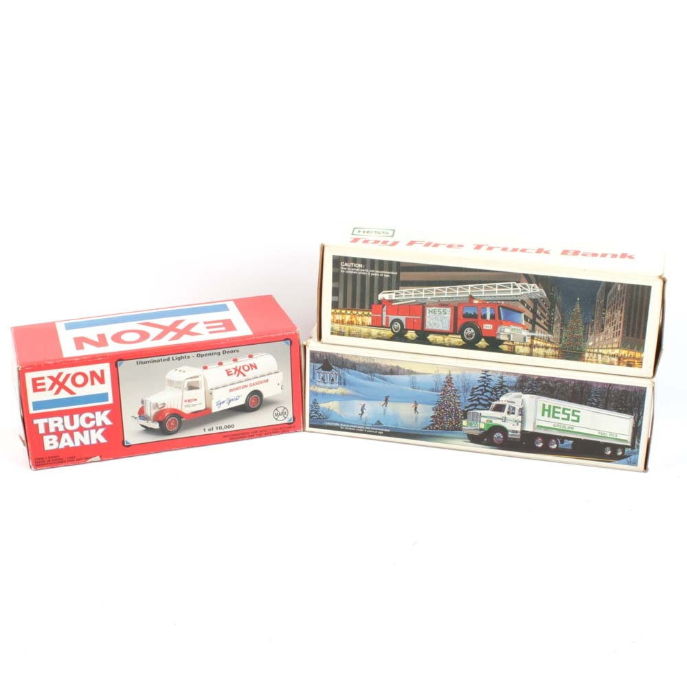 Collection of Toy Truck Banks