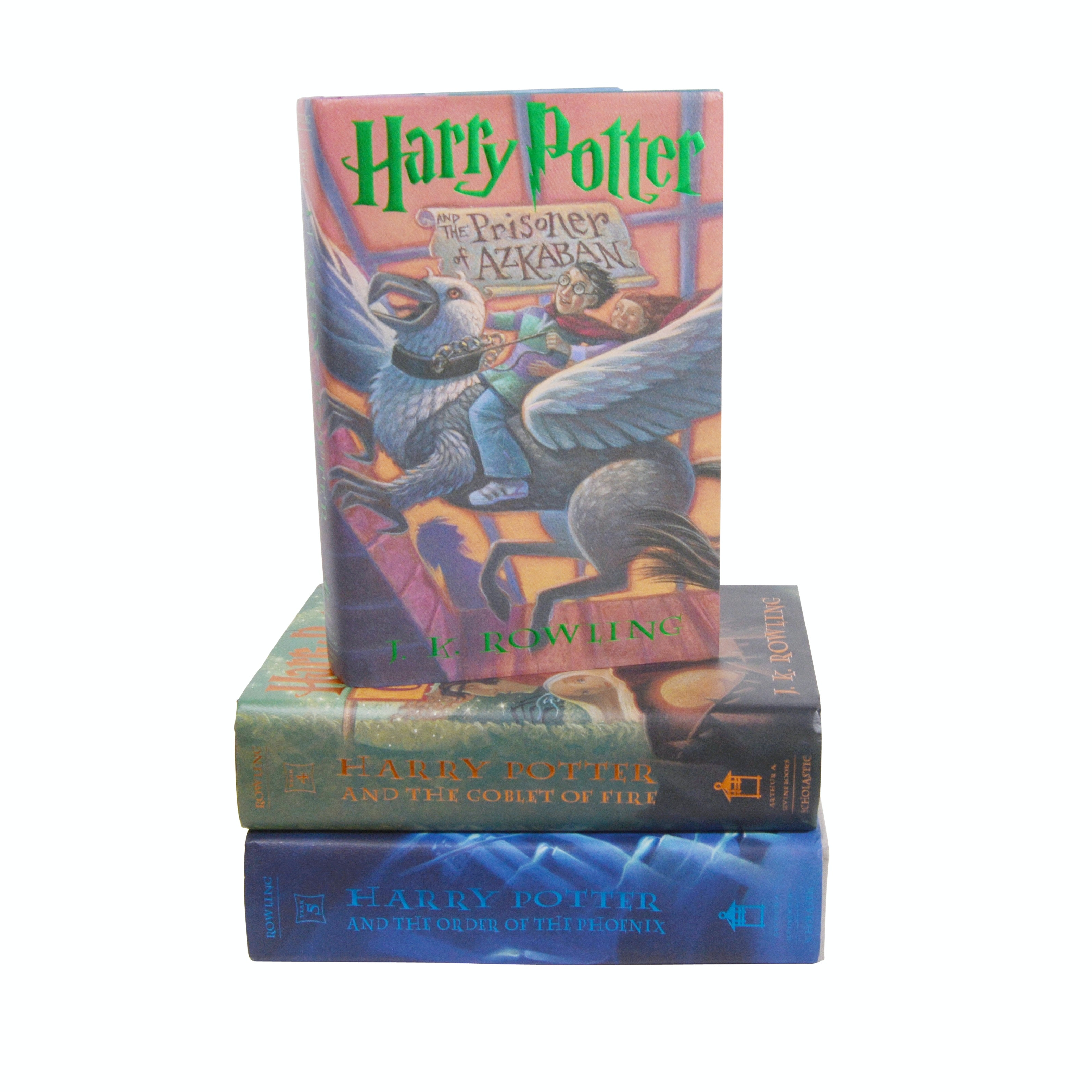 "Three ""Harry Potter"" Hardcover Books"