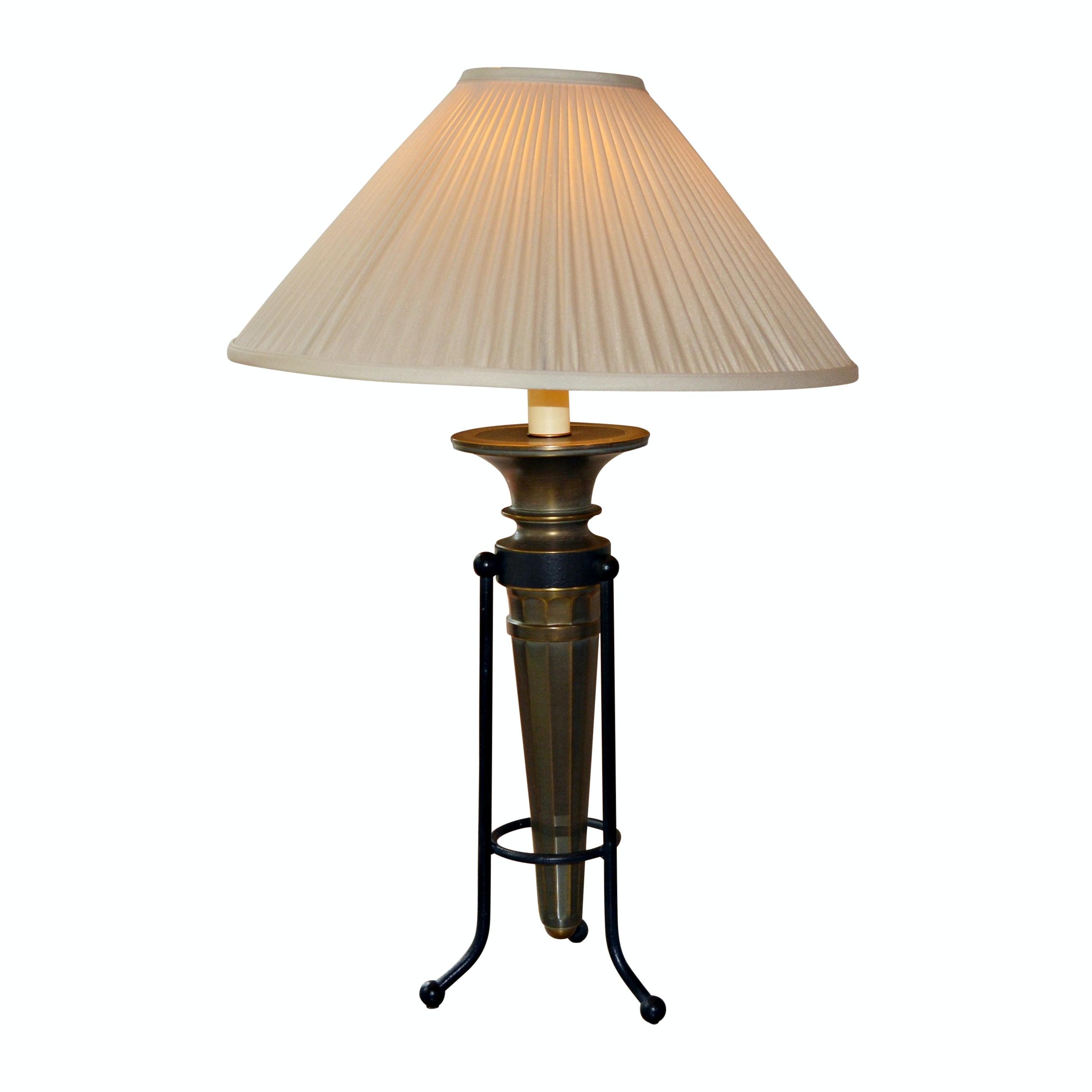 Ethan Allen Brass Table Lamp