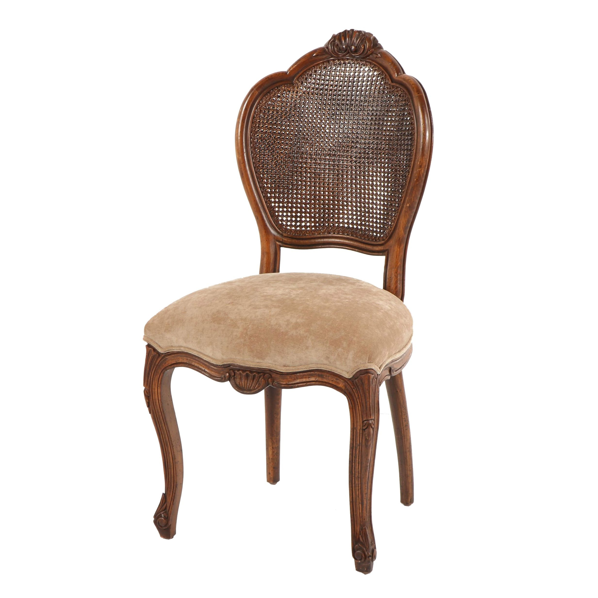 Caned Shell Back Chair