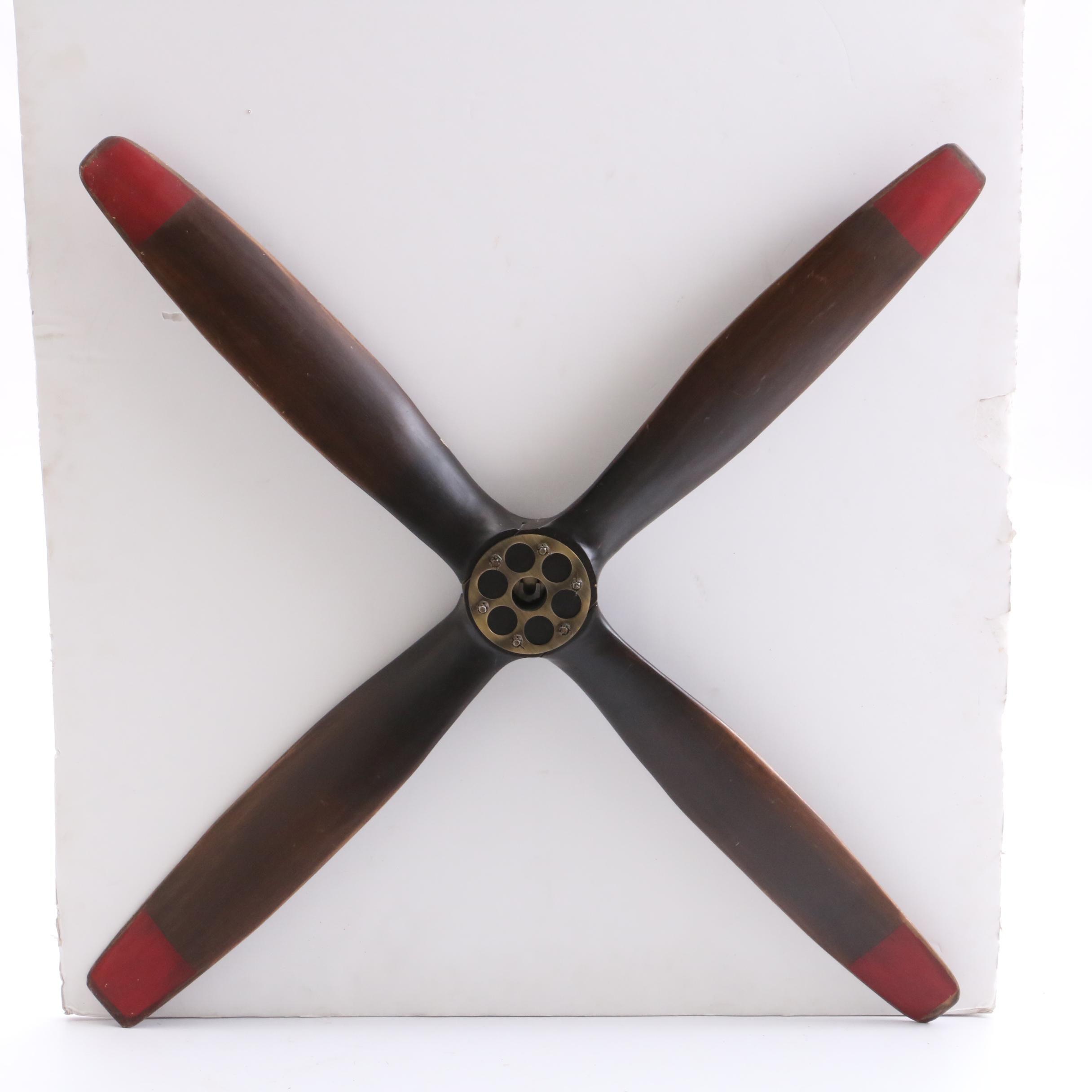 Curtis Auto Sales >> Decorative Wooden Wall Propeller : EBTH