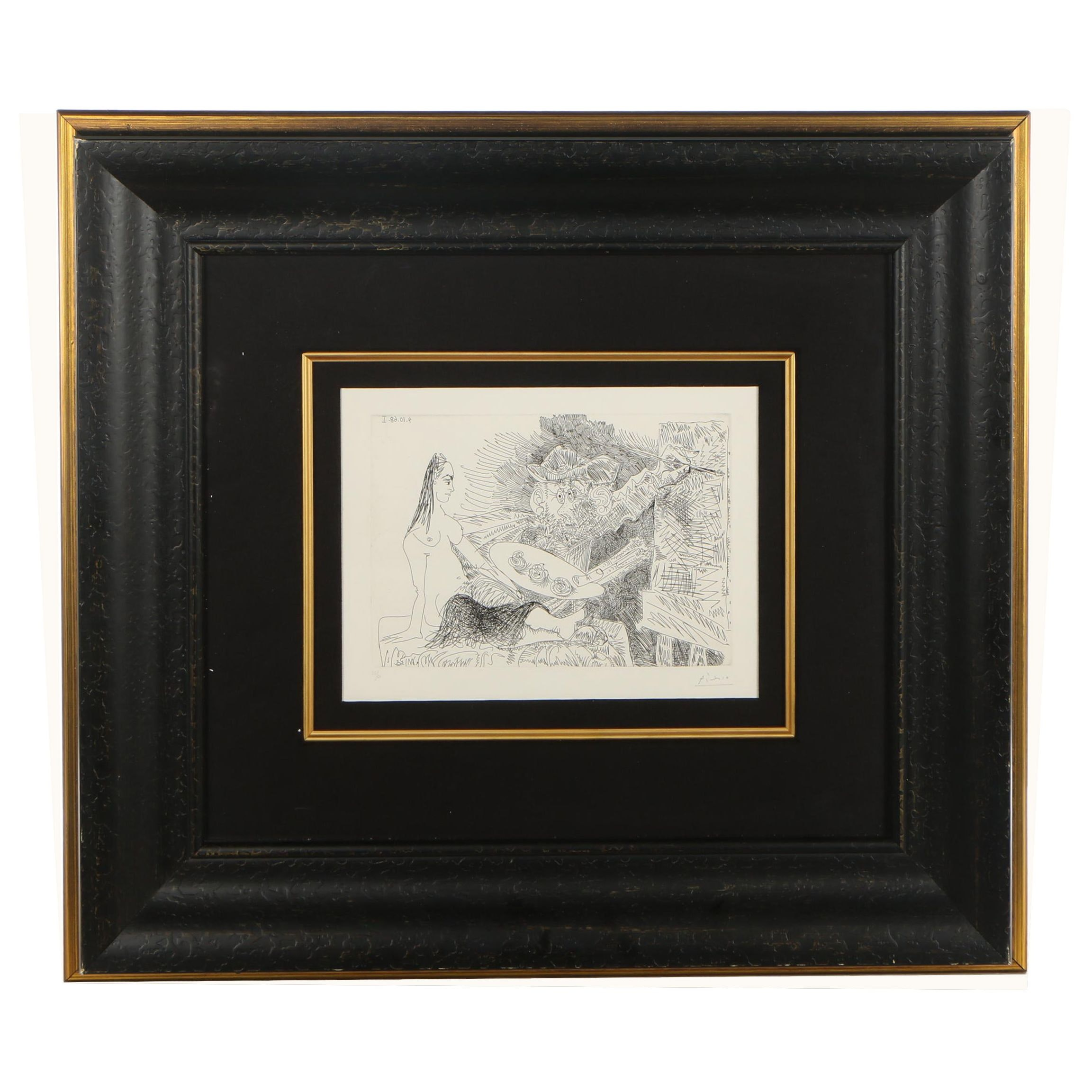 Pablo Picasso Etching from 347 Suite