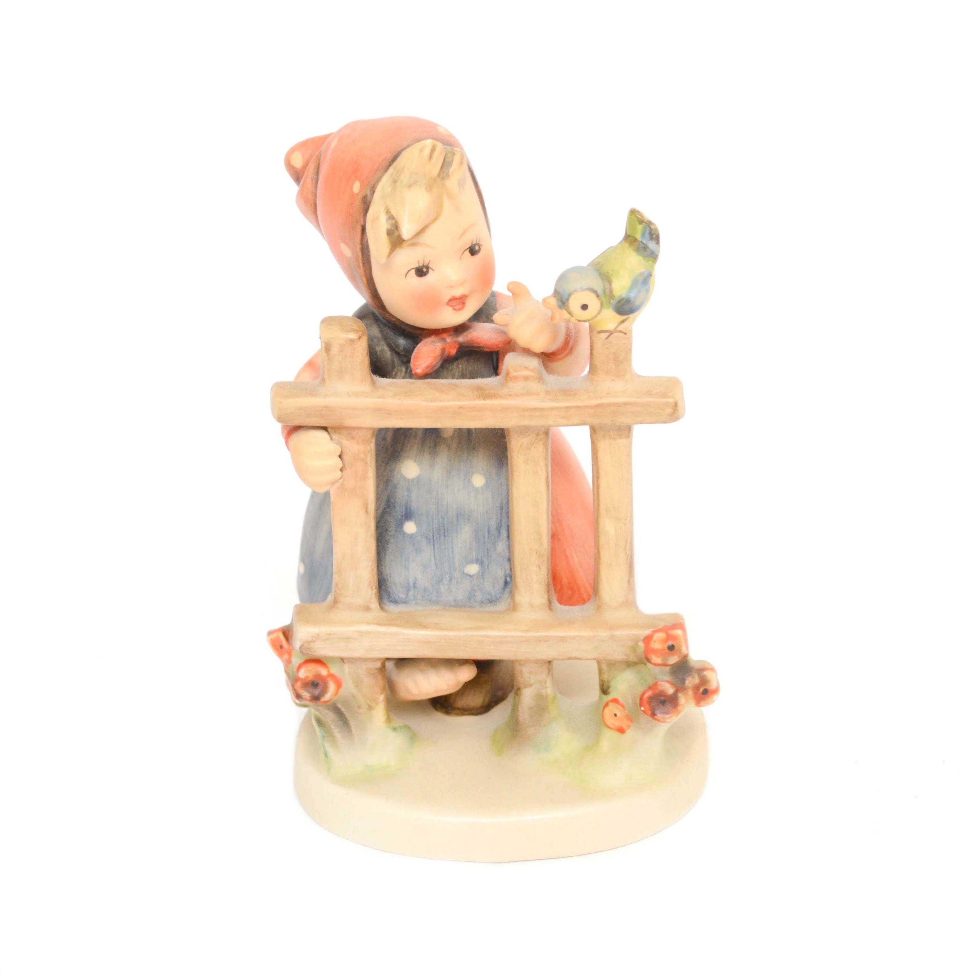 """Goebel Hummel """"Signs of Spring"""" Porcelain Figurine"""
