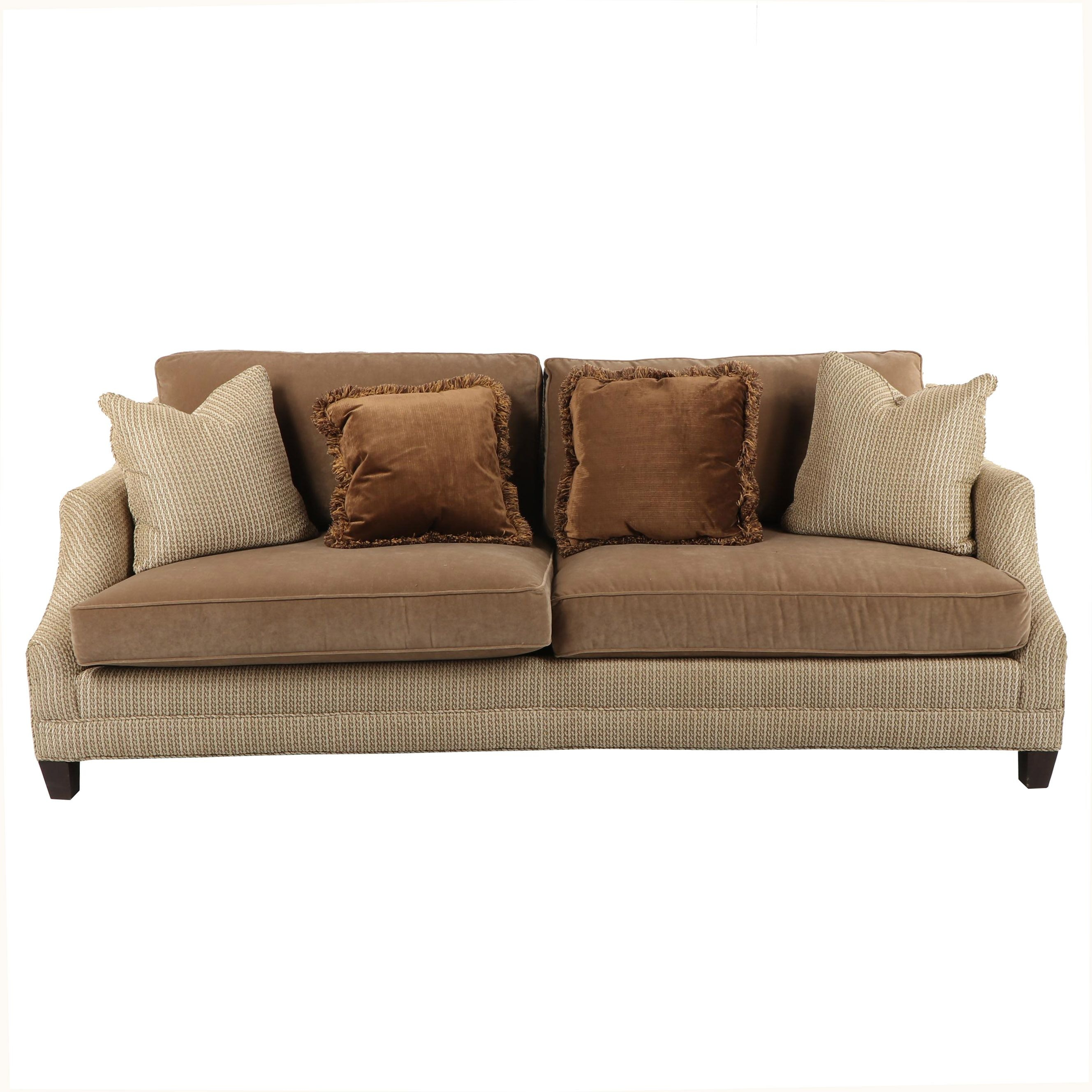 Upholstered Sofa By Taylor King ...
