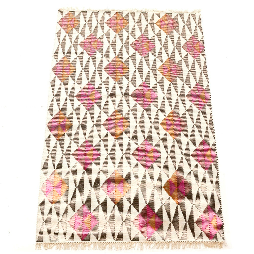 Contemporary Handwoven Area Rug from Design Within Reach