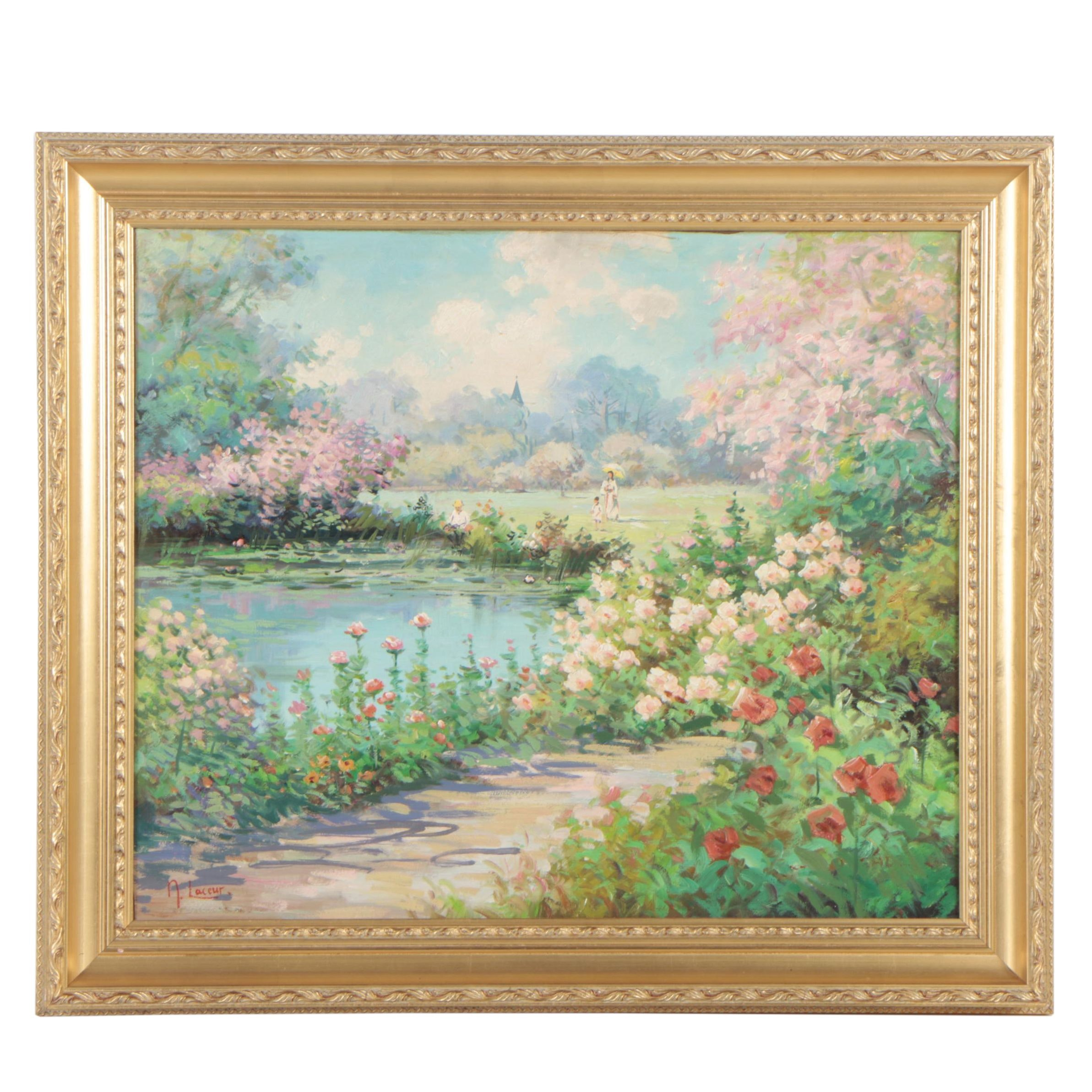 Nicole Laceur Oil Painting