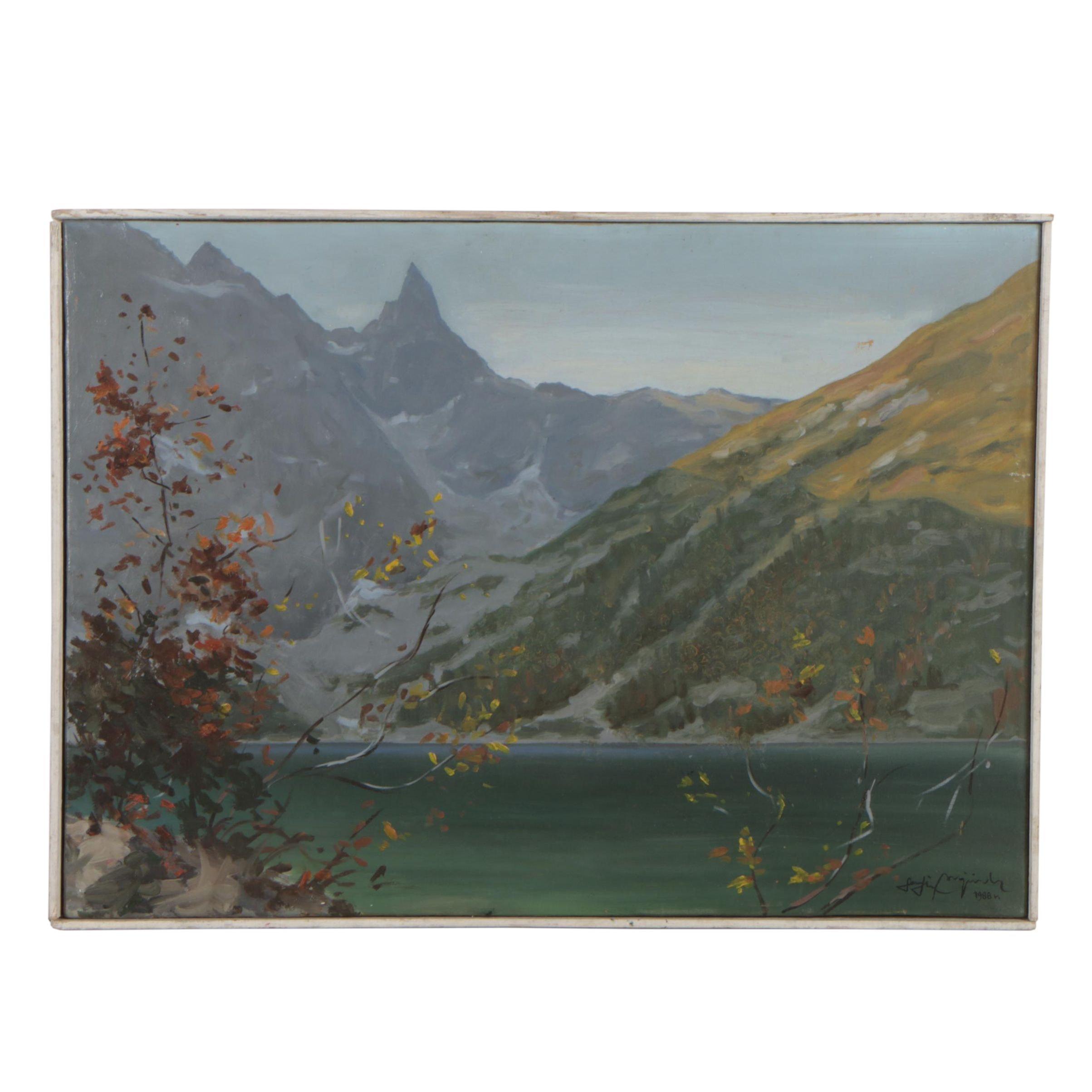 Wojciech Serafin Landscape Oil Painting
