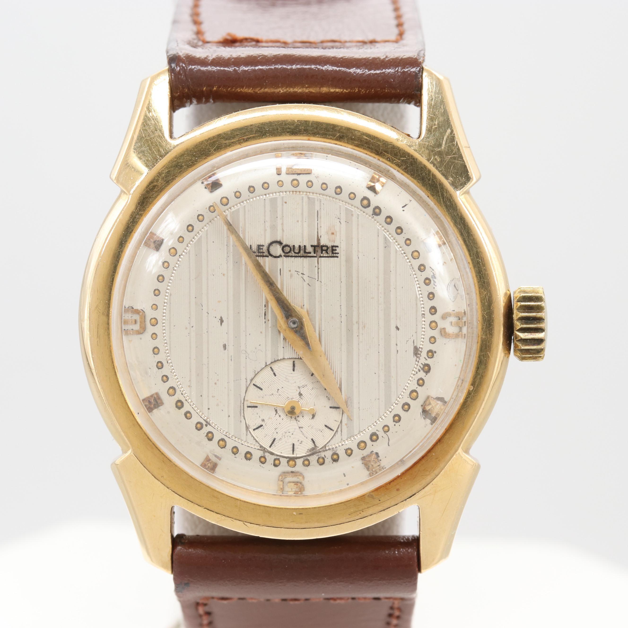 LeCoultre 18K Yellow Gold Wristwatch