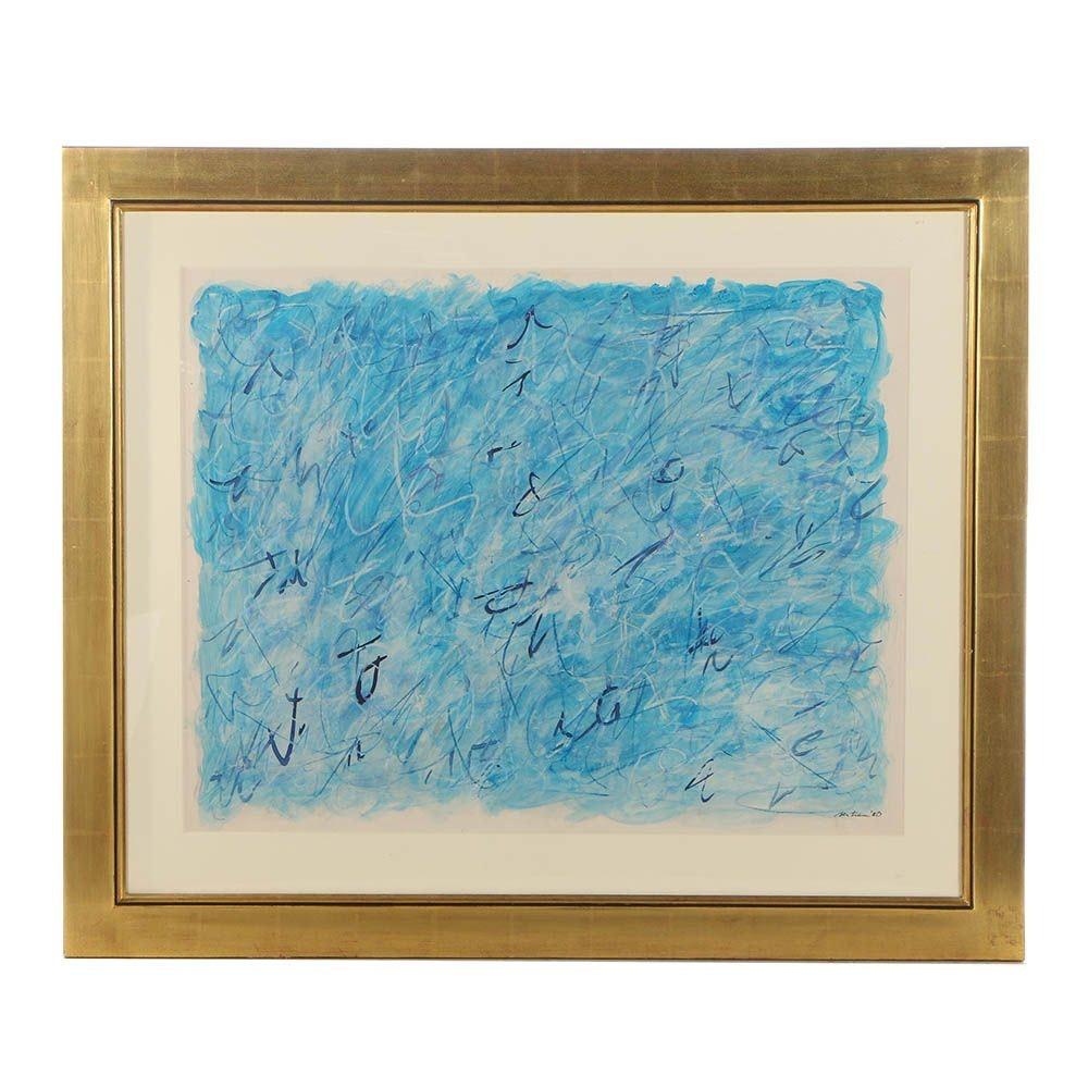 Bertram Mixed Media Abstract Painting