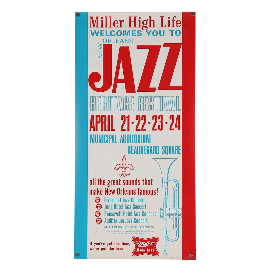 New Orleans Jazz Heritage Festival Promotional Poster