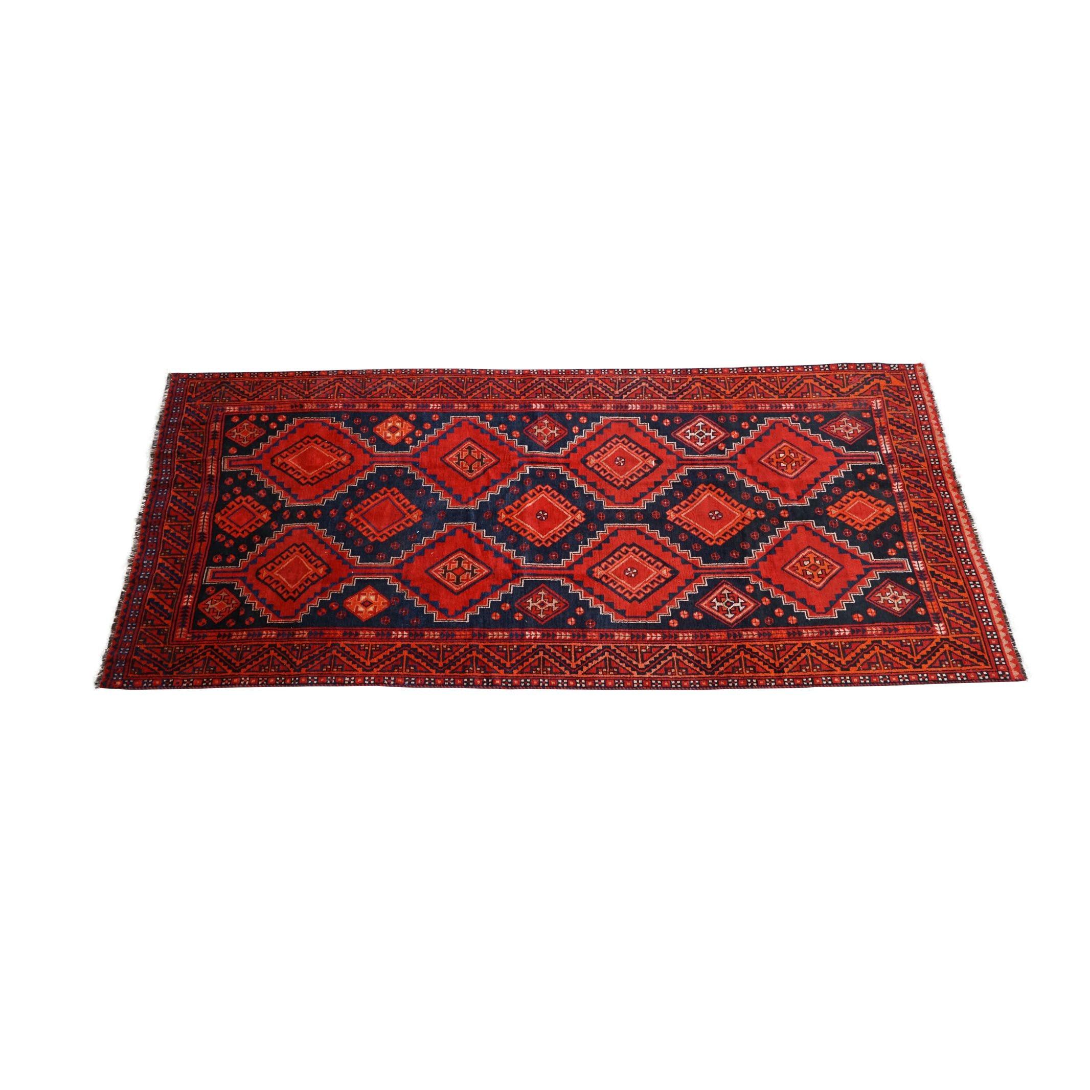 Hand-Knotted Persian Shiraz Long Rug