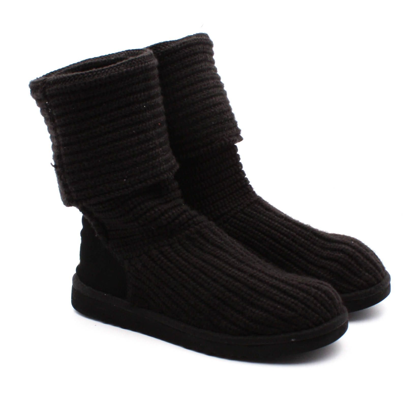 Women's UGG Australia Cardy Black Knit Boots