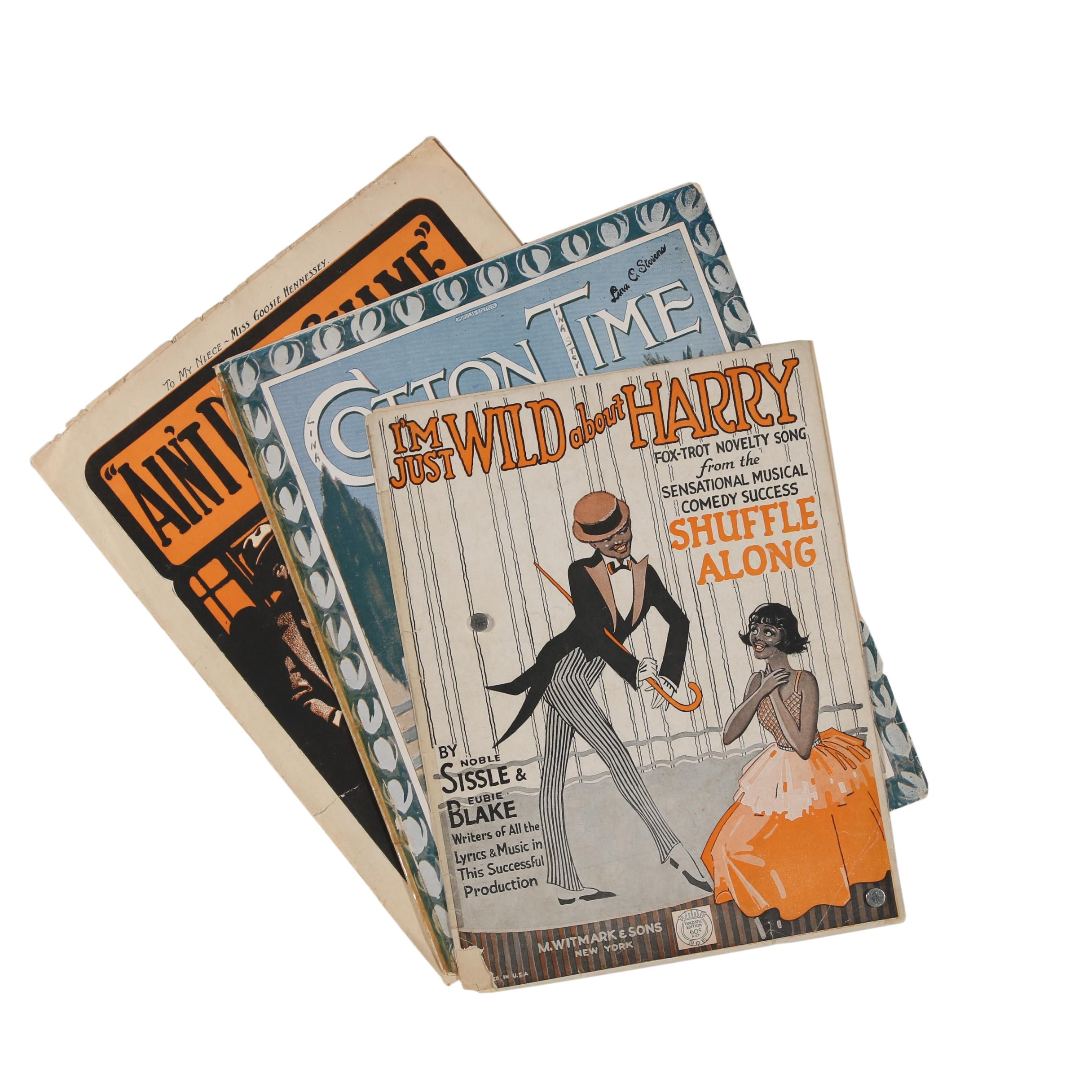 Early 20th Century Sheet Music