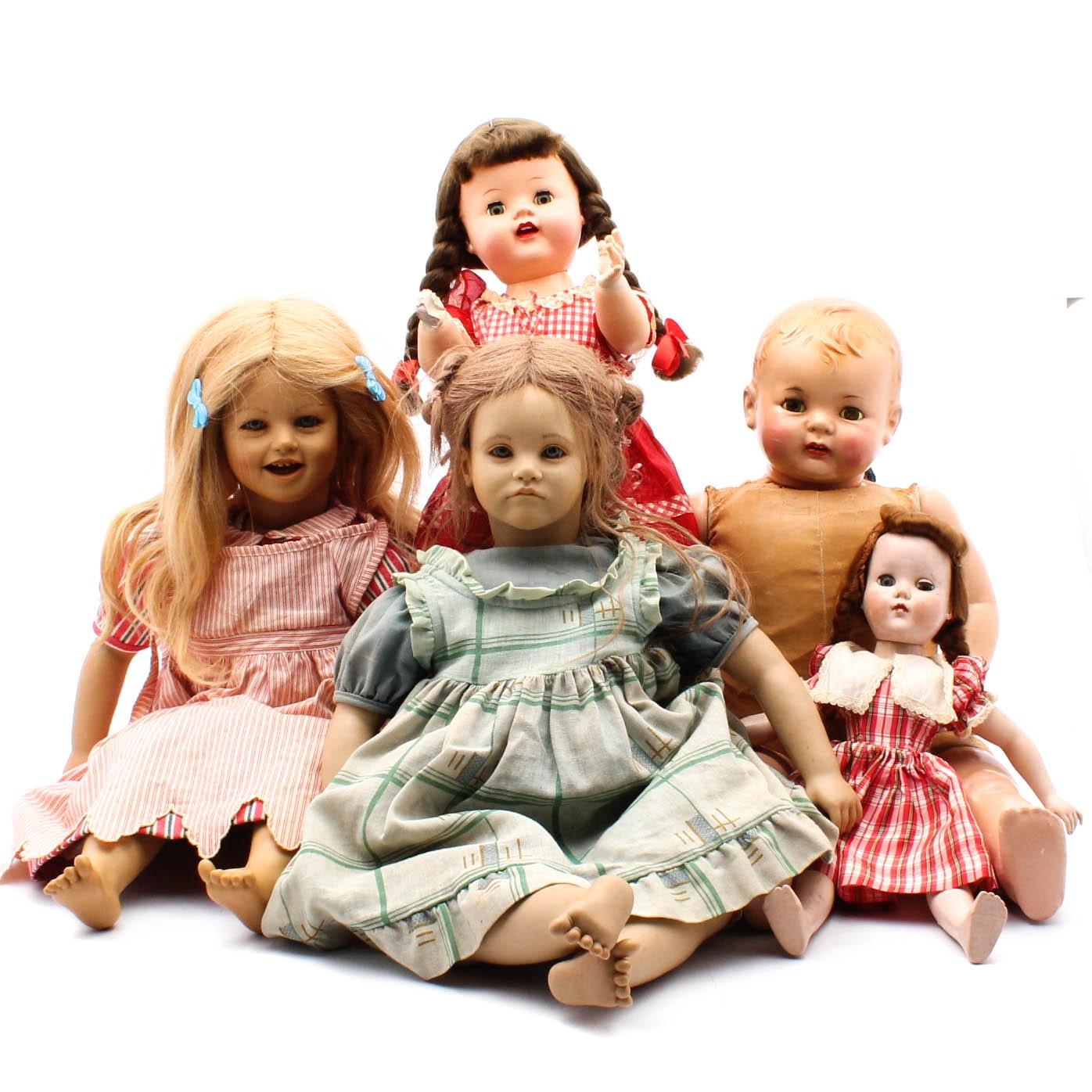 Baby Dolls Including Annette Himstedt, Effanbee