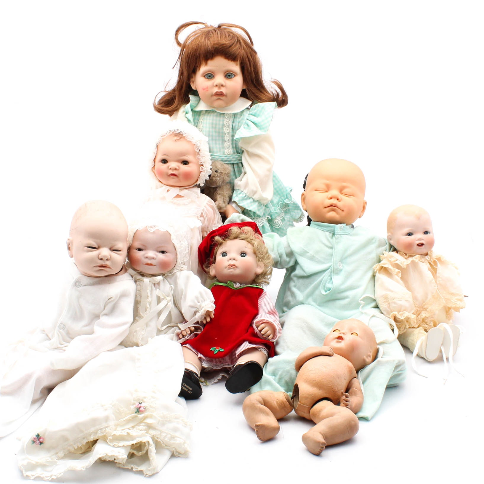 Baby Dolls Including Berjusa, Lee Middleton, Bye-Lo, FayZah Spanos