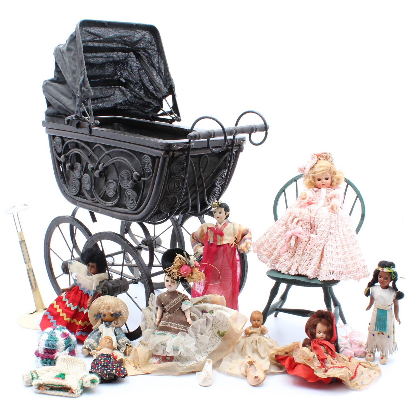 Dolls, Furnishings and Accessories