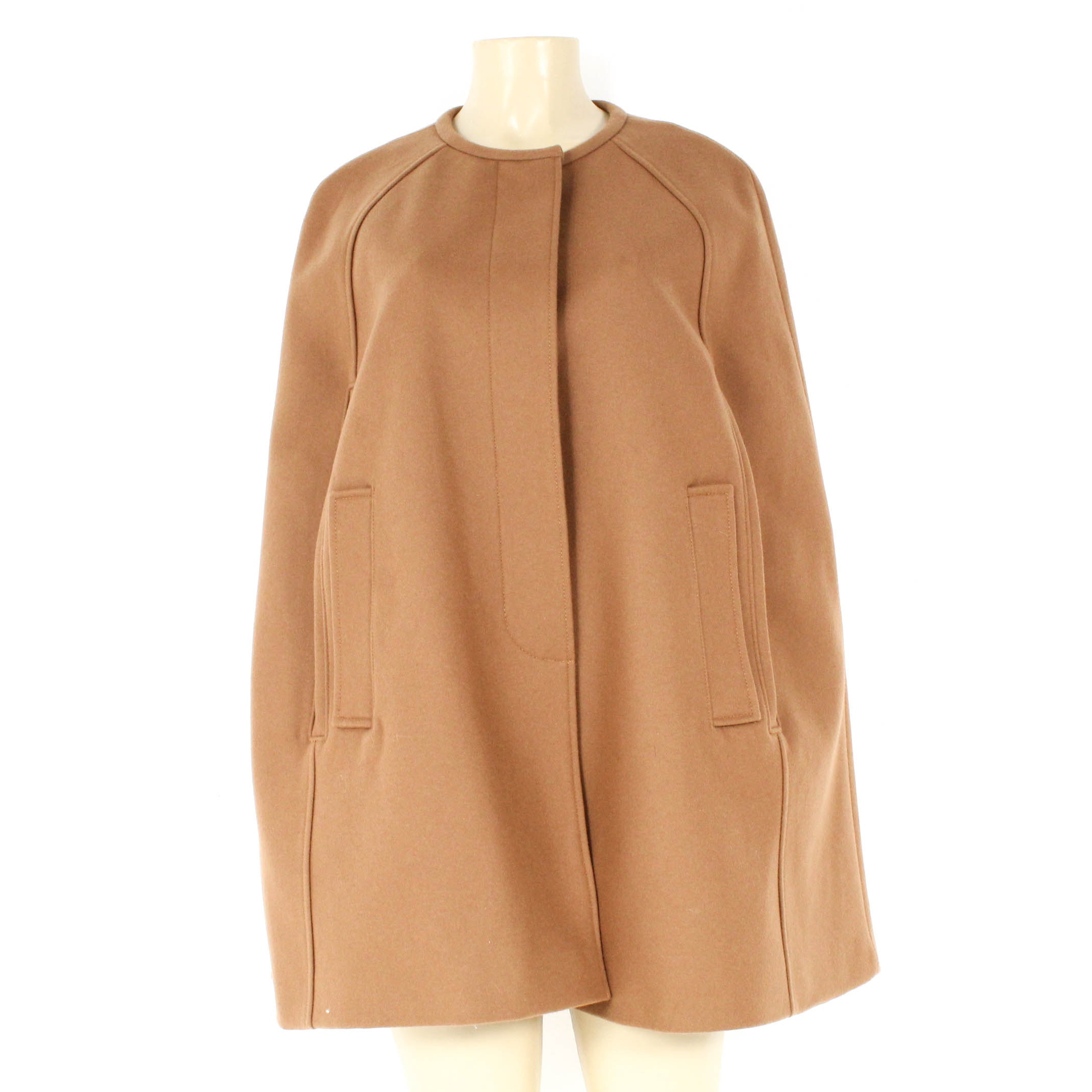 J. Crew Melton Wool Cape