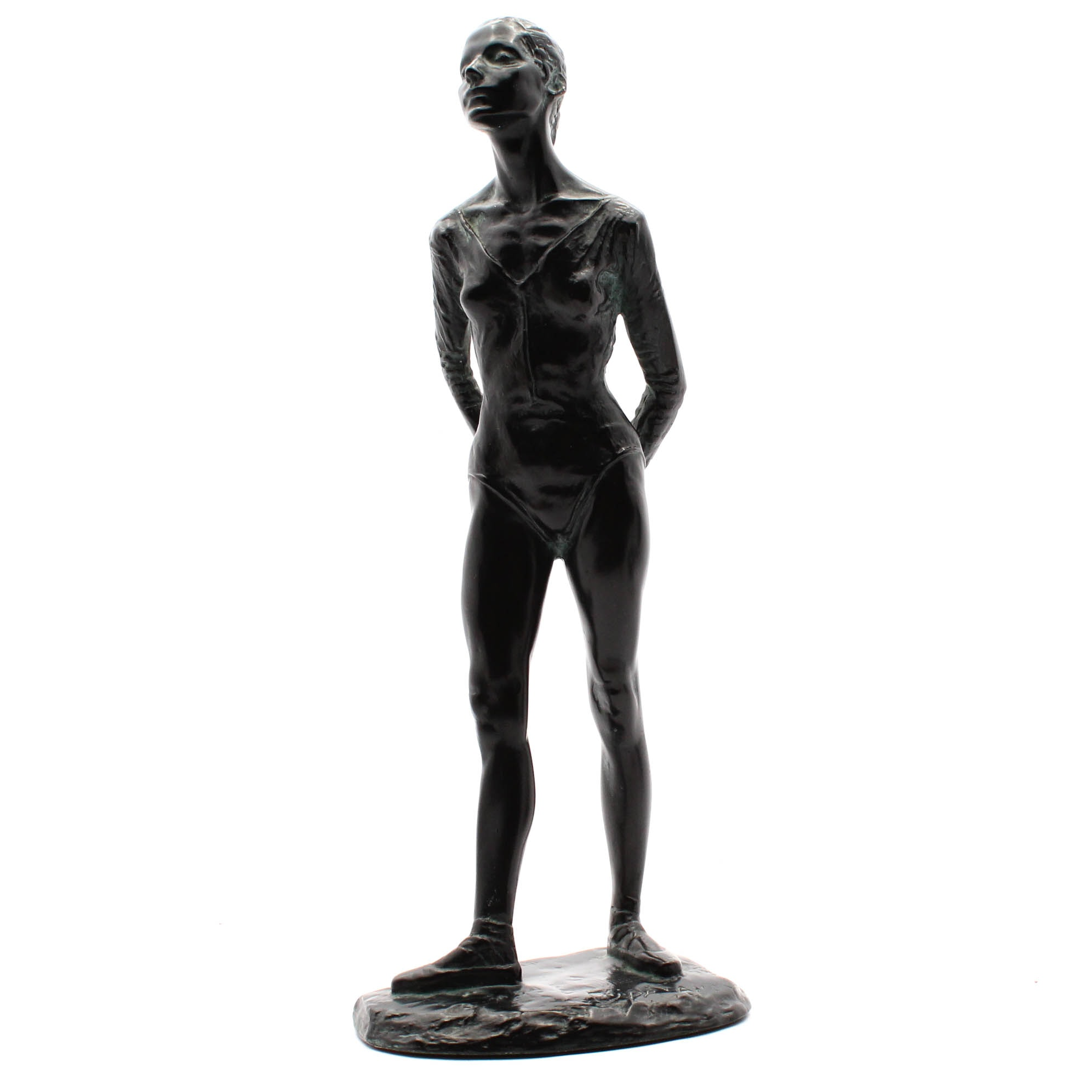 Resin Sculpture of Ballet Dancer after Anthony Cipriano