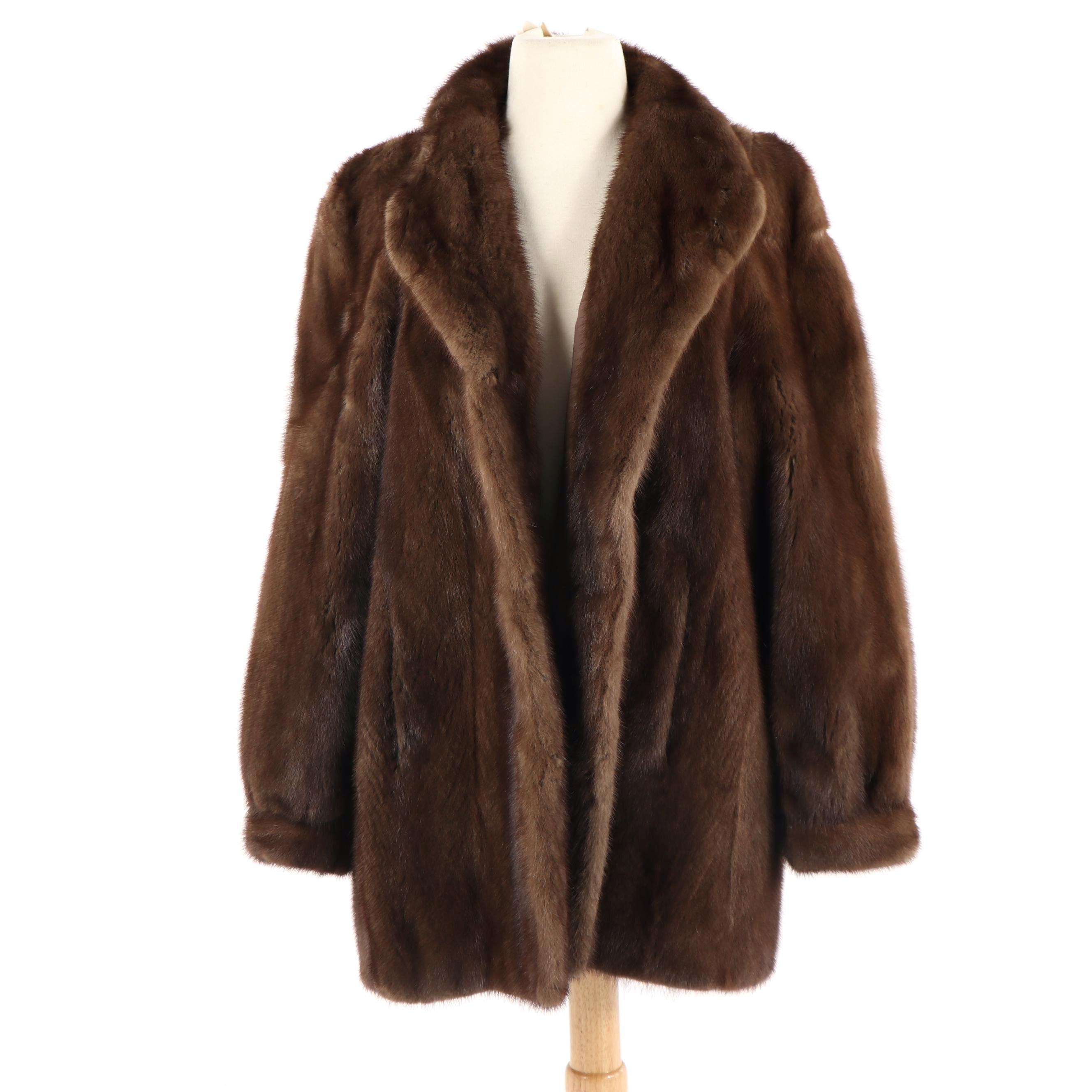 Anderson Fur Company Mink Fur Coat