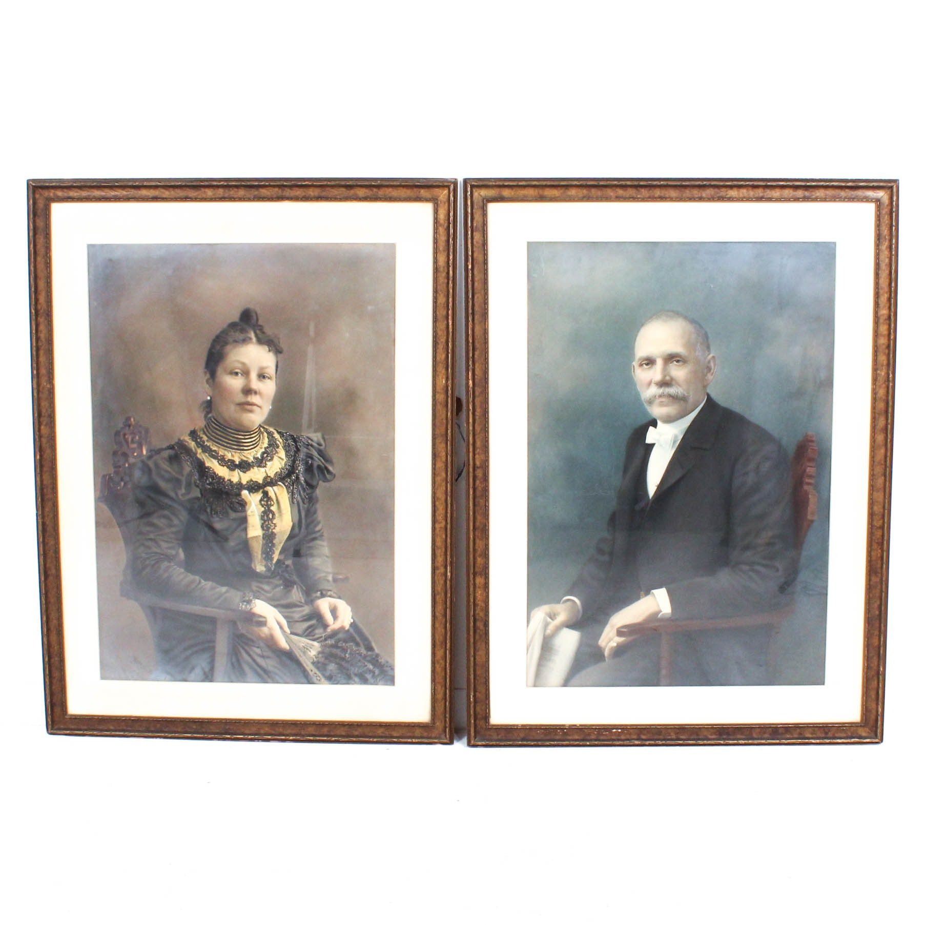Circa 1905 Portraits of Reece and Viola Tannehill