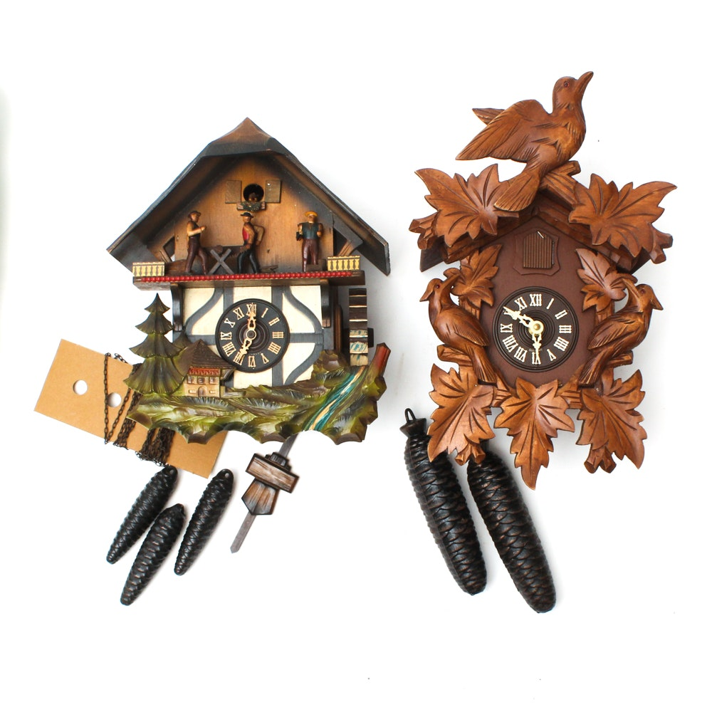 German Cuckoo Clocks