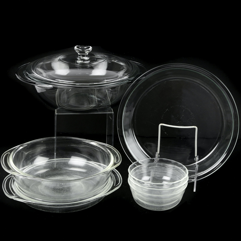 Glass Bakeware featuring Pyrex