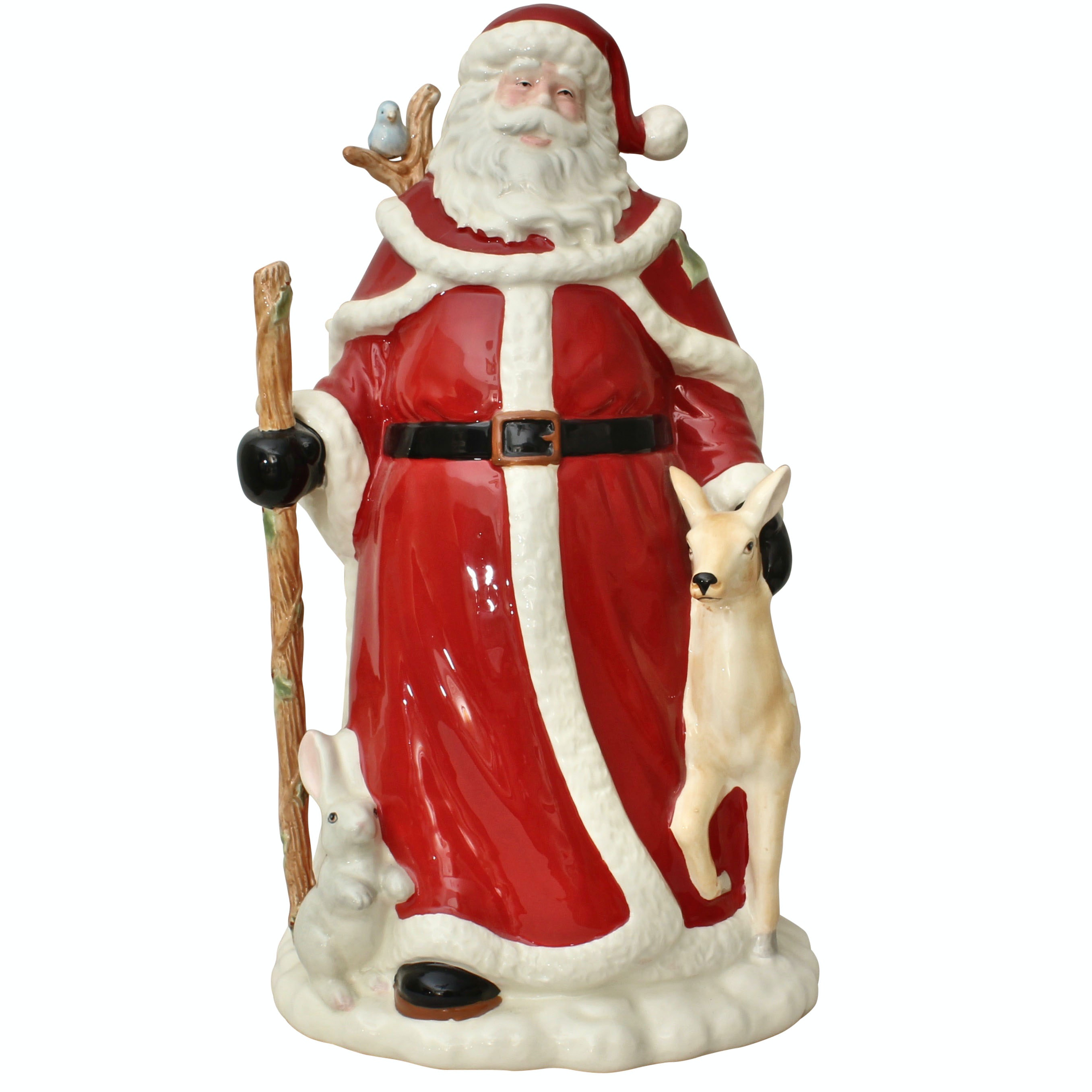 Large Lenox Porcelain Santa Claus