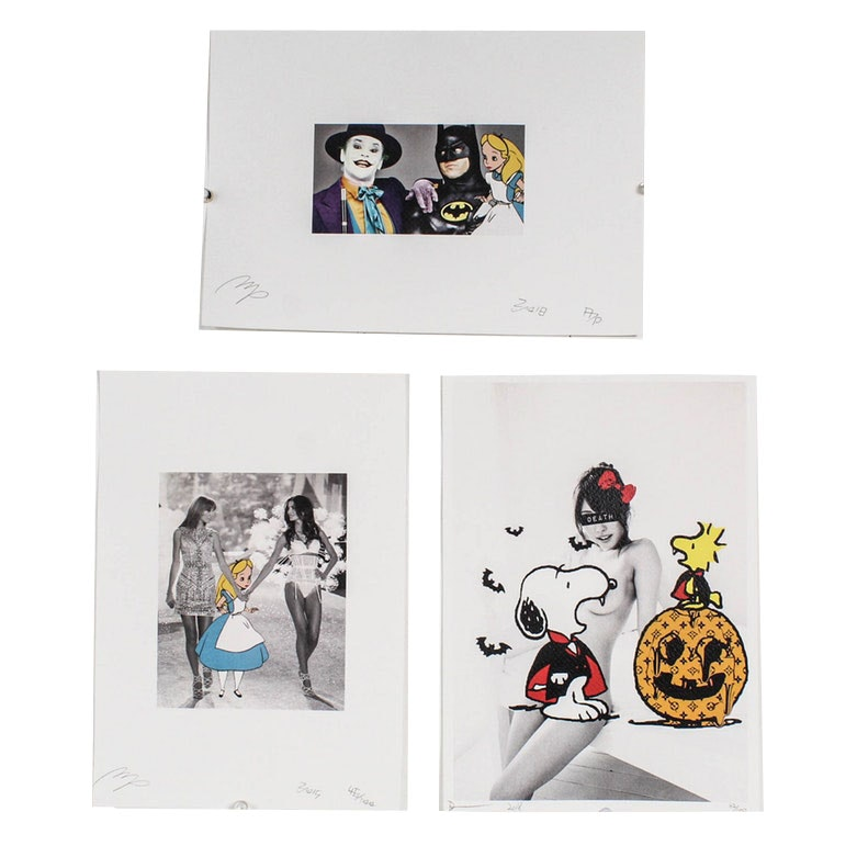 Missing Piece and Death NYC Limited Edition Graphic Illustrations