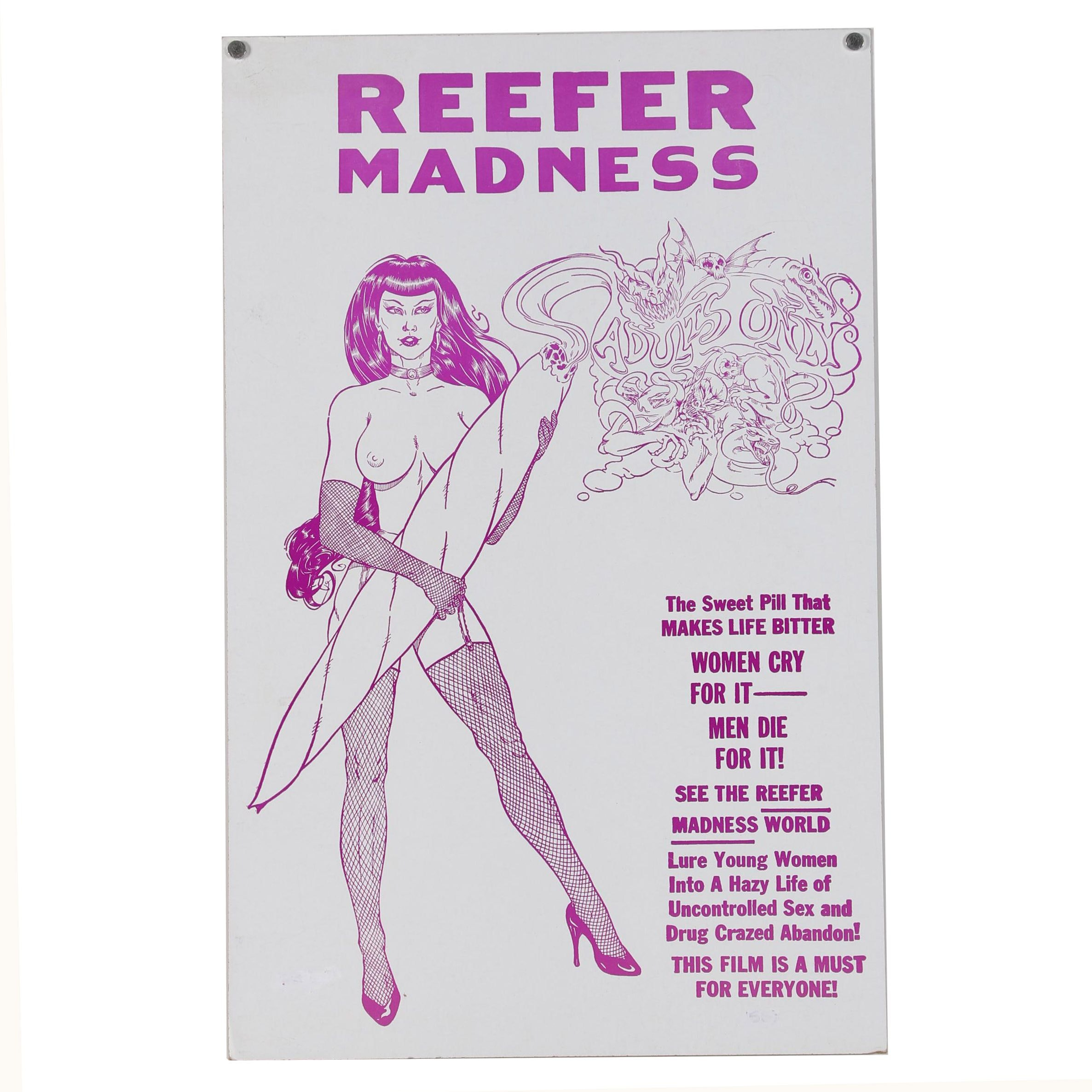 Reefer Madness Promotional Film Poster