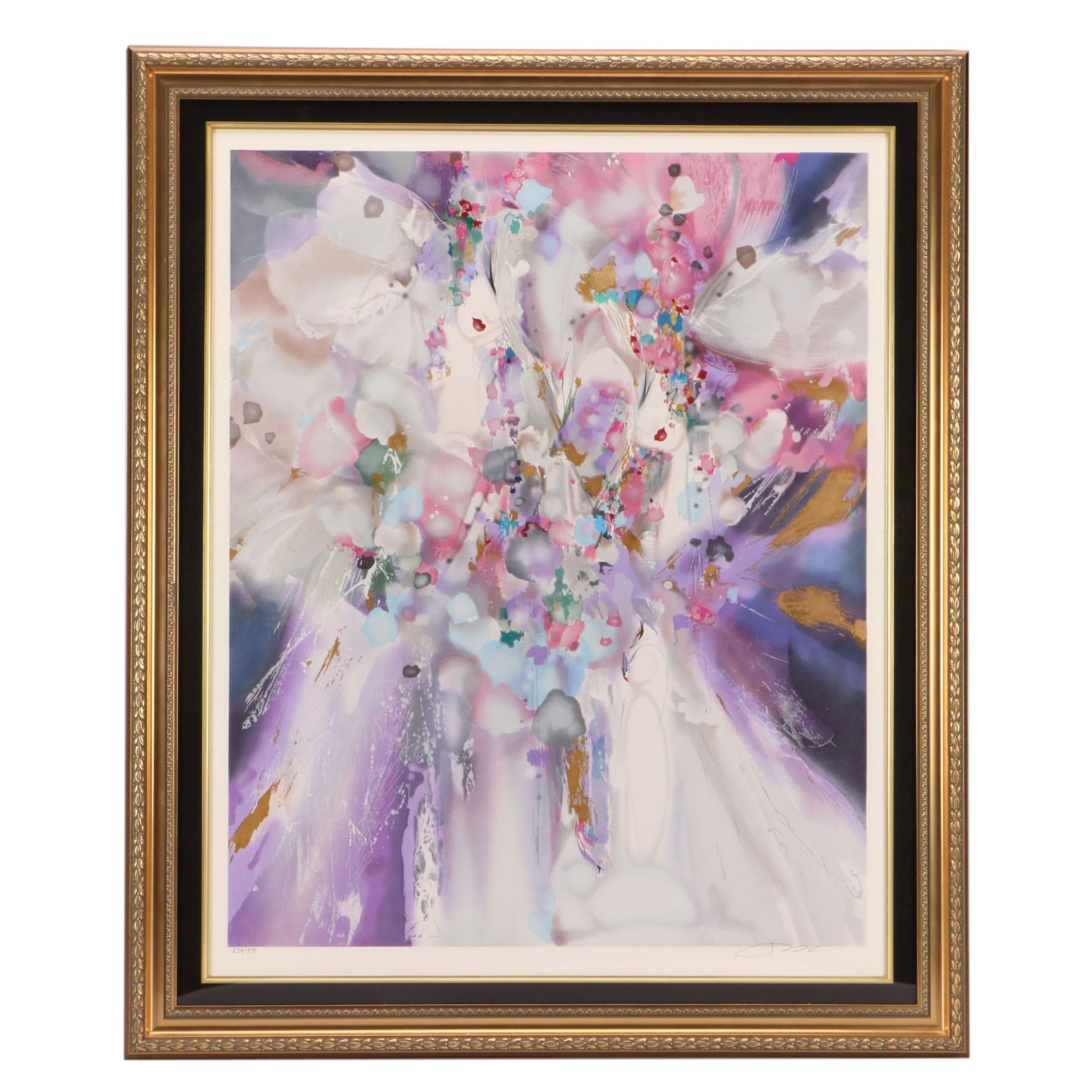 Suzanne Marie Limited Edition Abstract Serigraph Print of Women