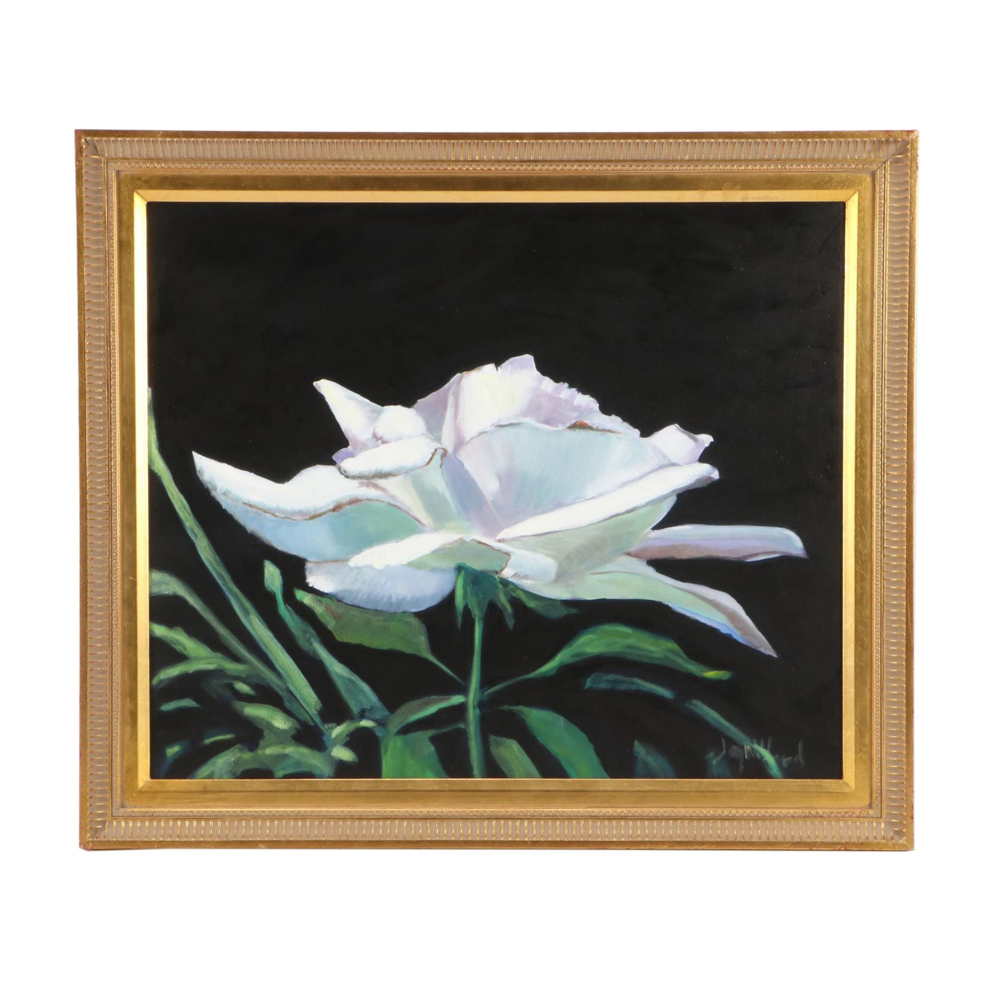 Jay Wilford Oil Floral Painting