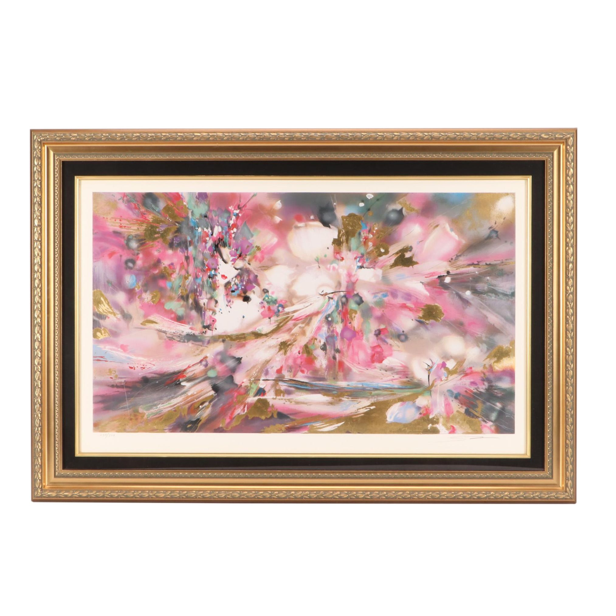 Suzanne Marie East Asian-Inspired Limited Edition Serigraph