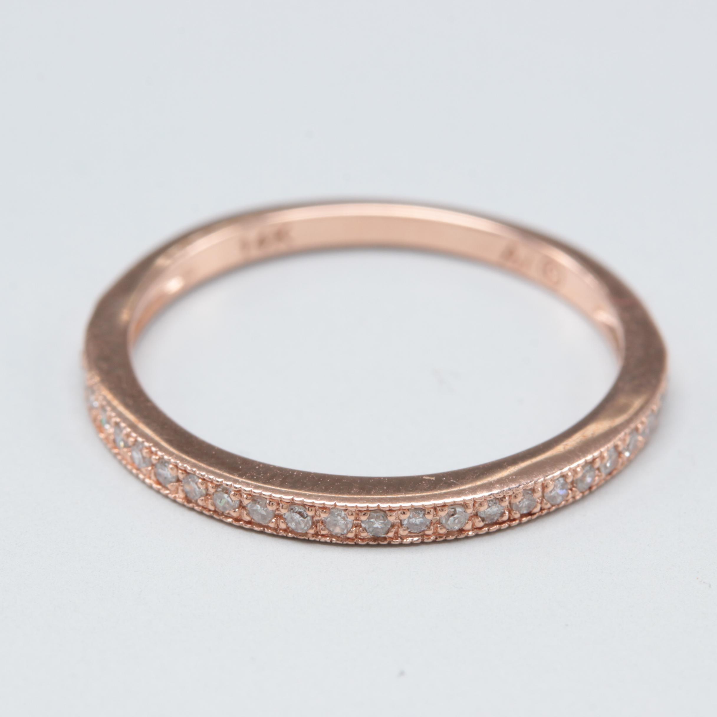 Alwand Vahan 14K Rose Gold Diamond Ring