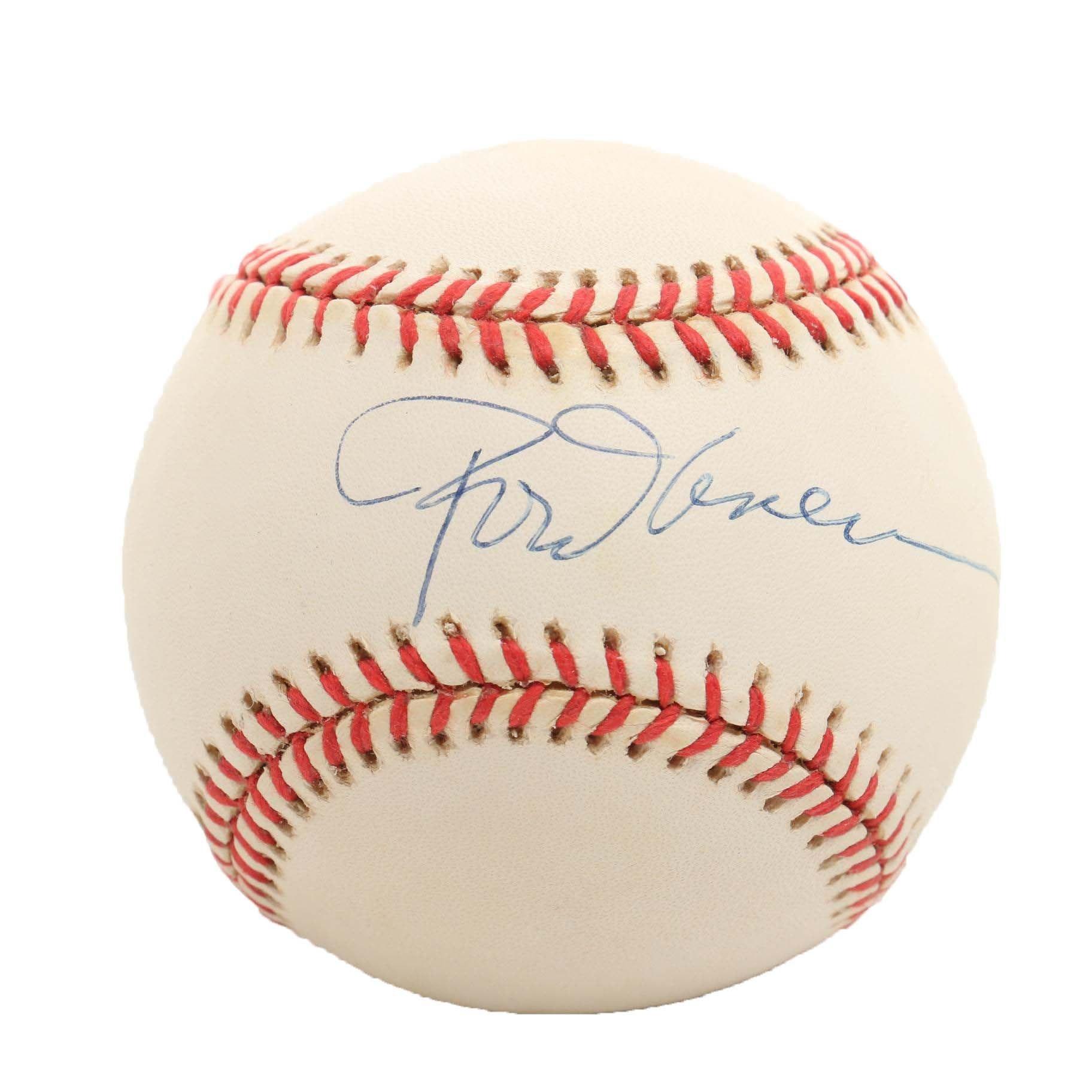 HOF Rod Carew Signed Rawlings American League Baseball PSA/DNA COA