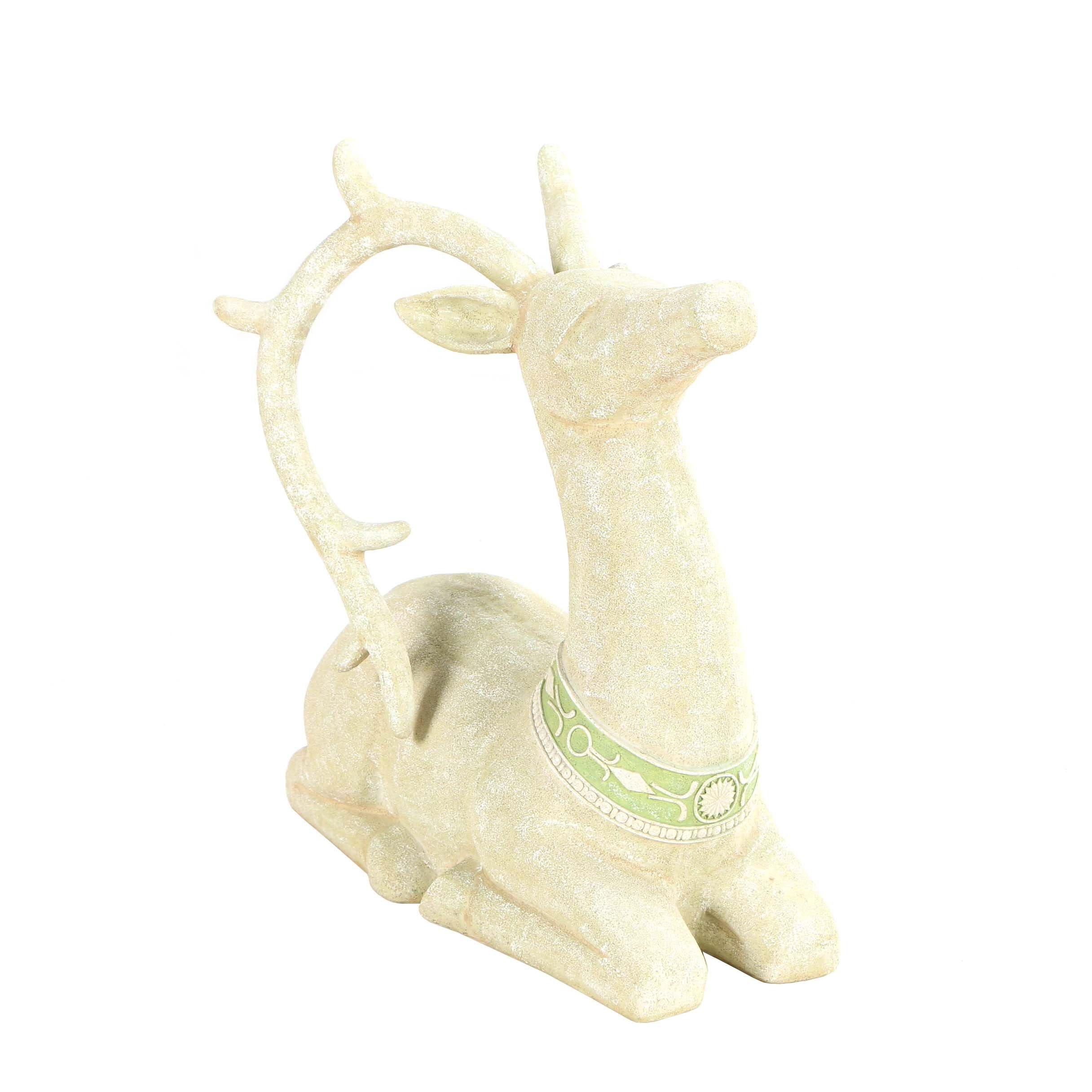 Grasslands Road Resin Reindeer Statue