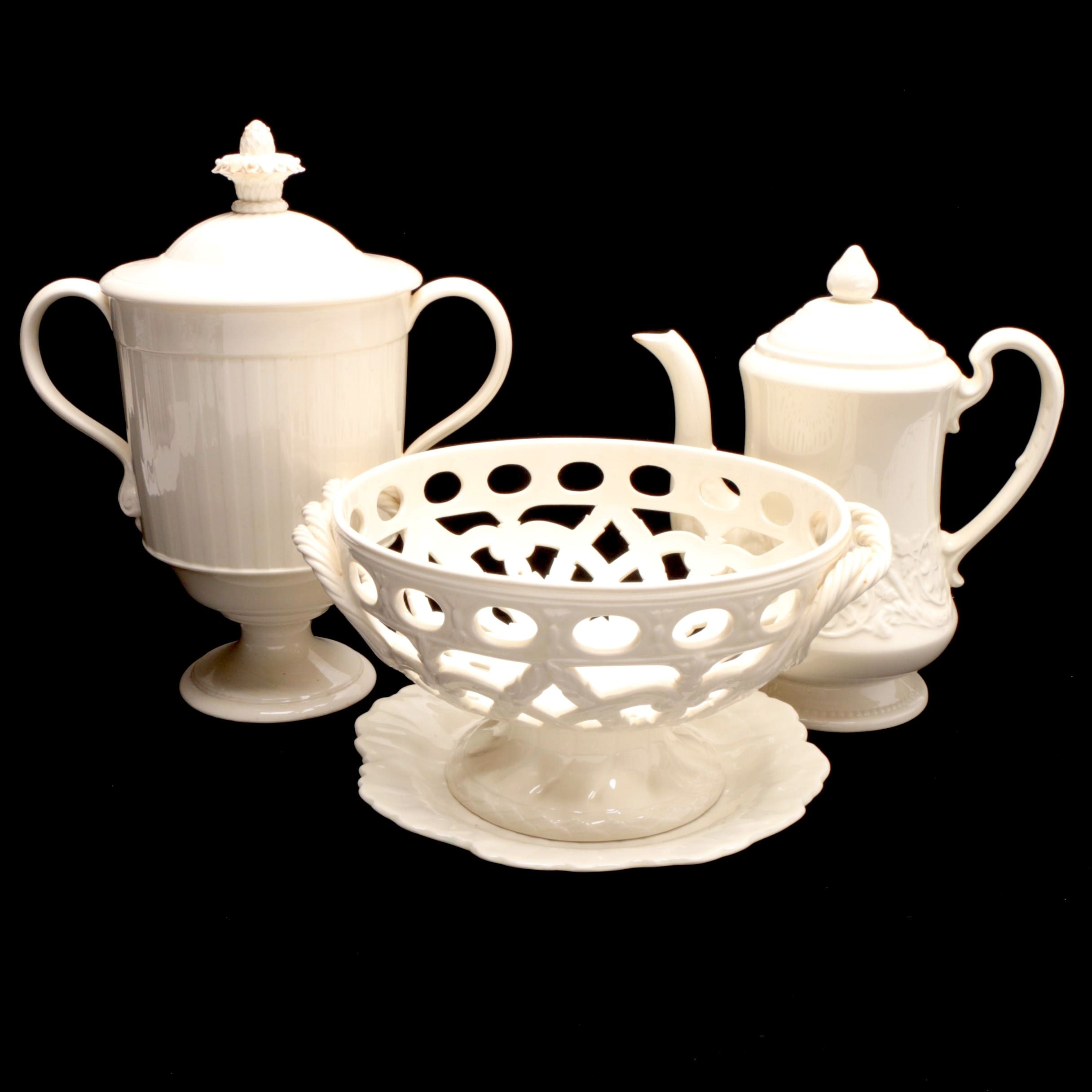 "Wedgwood Tableware Including ""Patrician"" Tea Pot"
