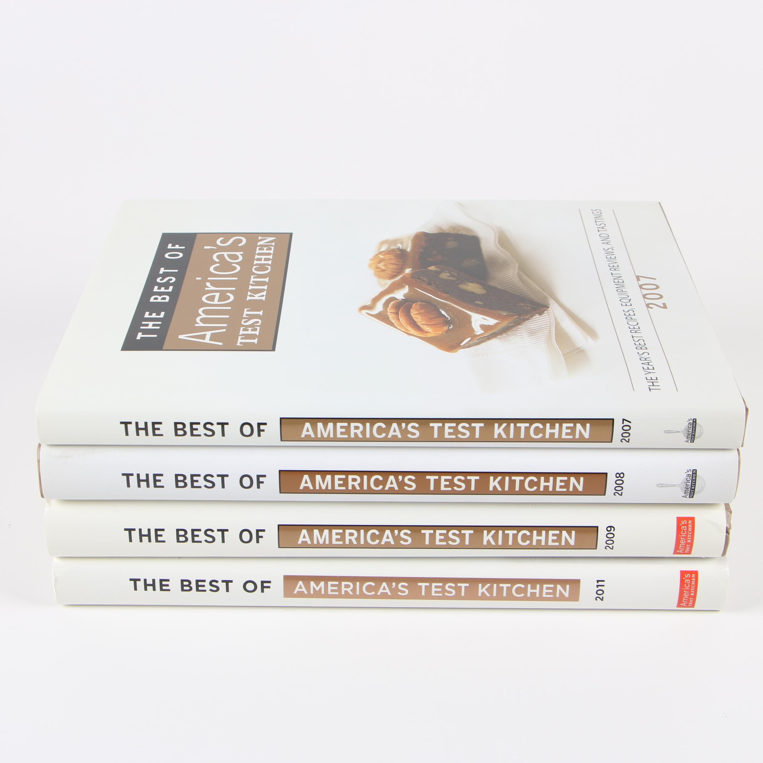 """The Best of America's Test Kitchen"" Cookbooks"