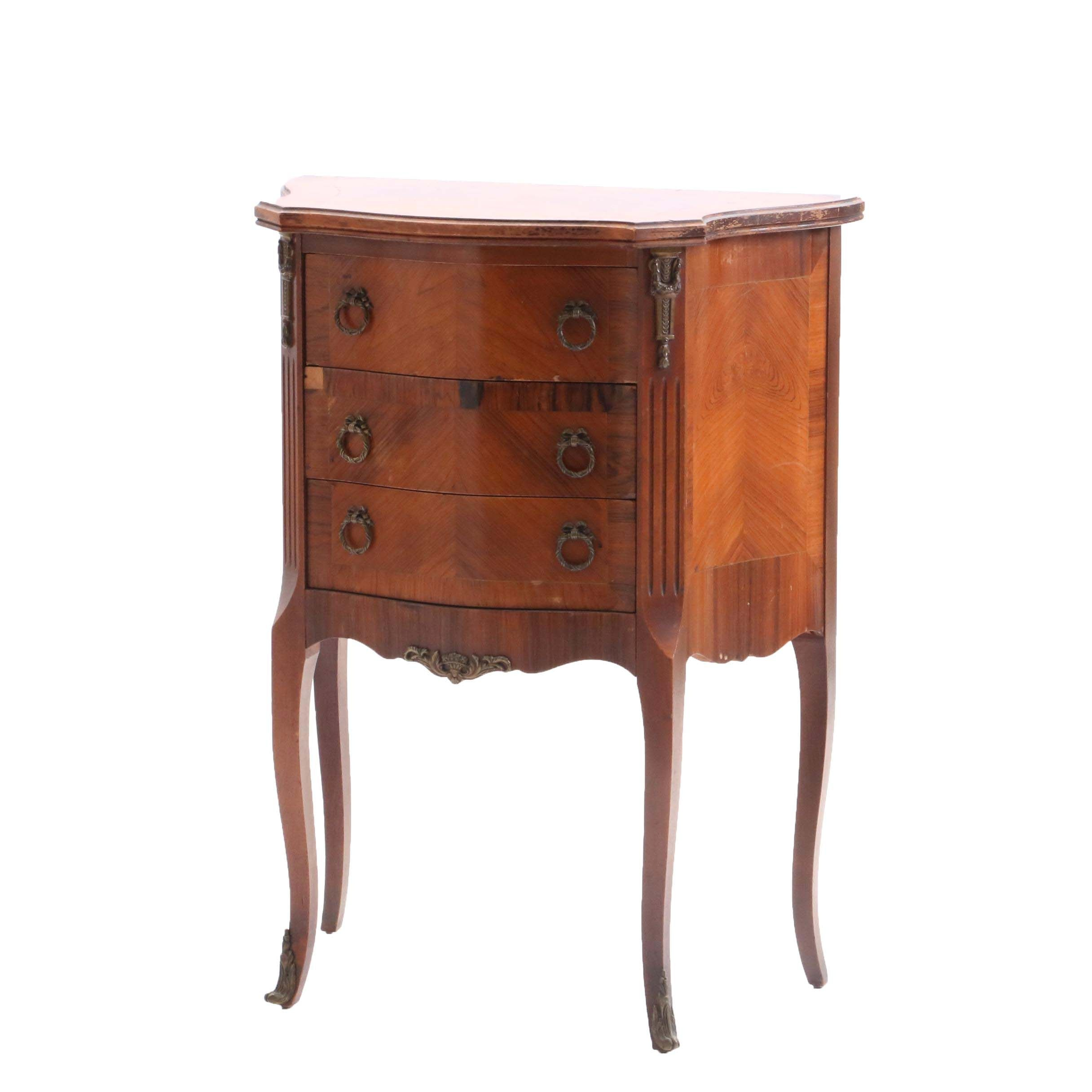 Louis XV Style Kingwood Cabinet, Mid 20th Century