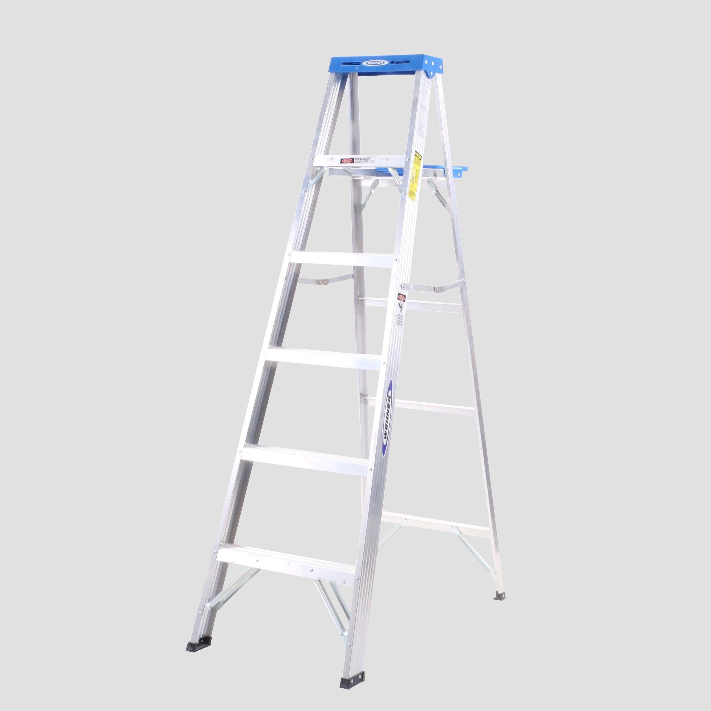 Werner Folding Aluminum Ladder