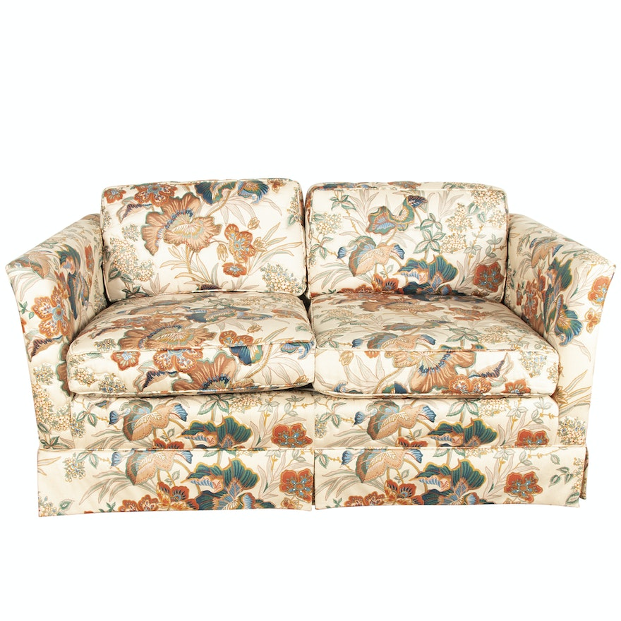 Awe Inspiring Upholstered Lawson Style Loveseat By Lee Industries 20Th Century Forskolin Free Trial Chair Design Images Forskolin Free Trialorg
